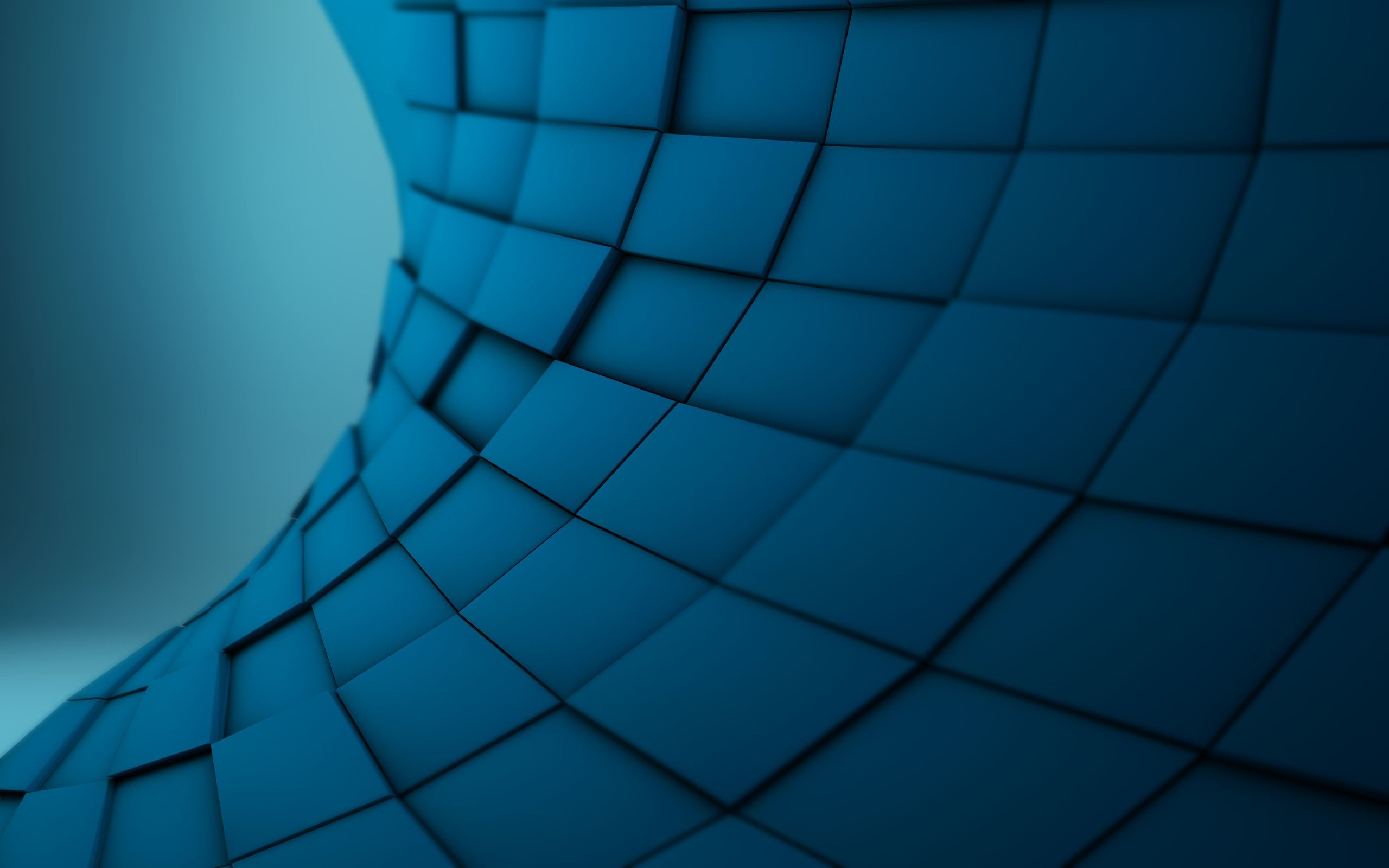 Res: 2560x1600, Abstract Texture Blue Wallpaper