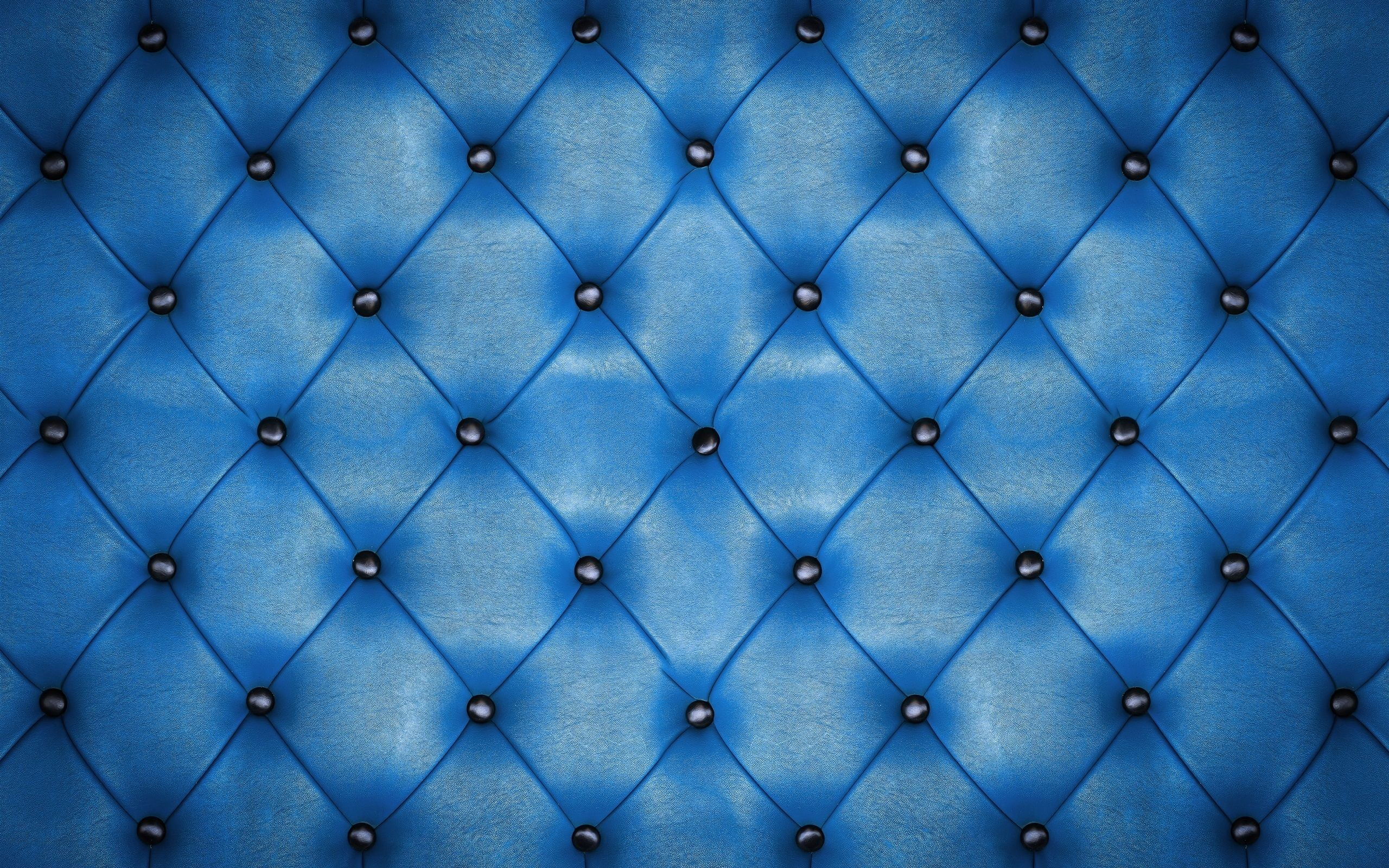 Res: 2560x1600, blue leather texture background wallpaper