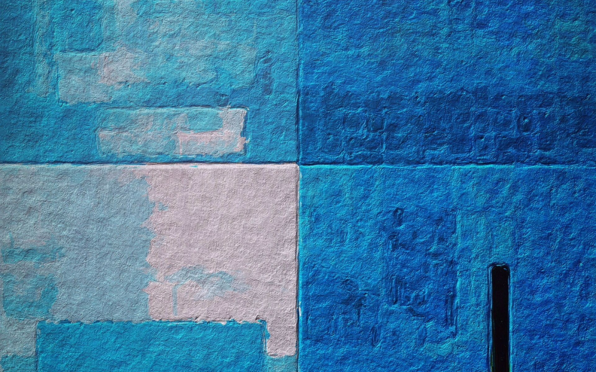 Res: 1920x1200, monotype print, wall, color, texture, blue, background, hd wallpaper