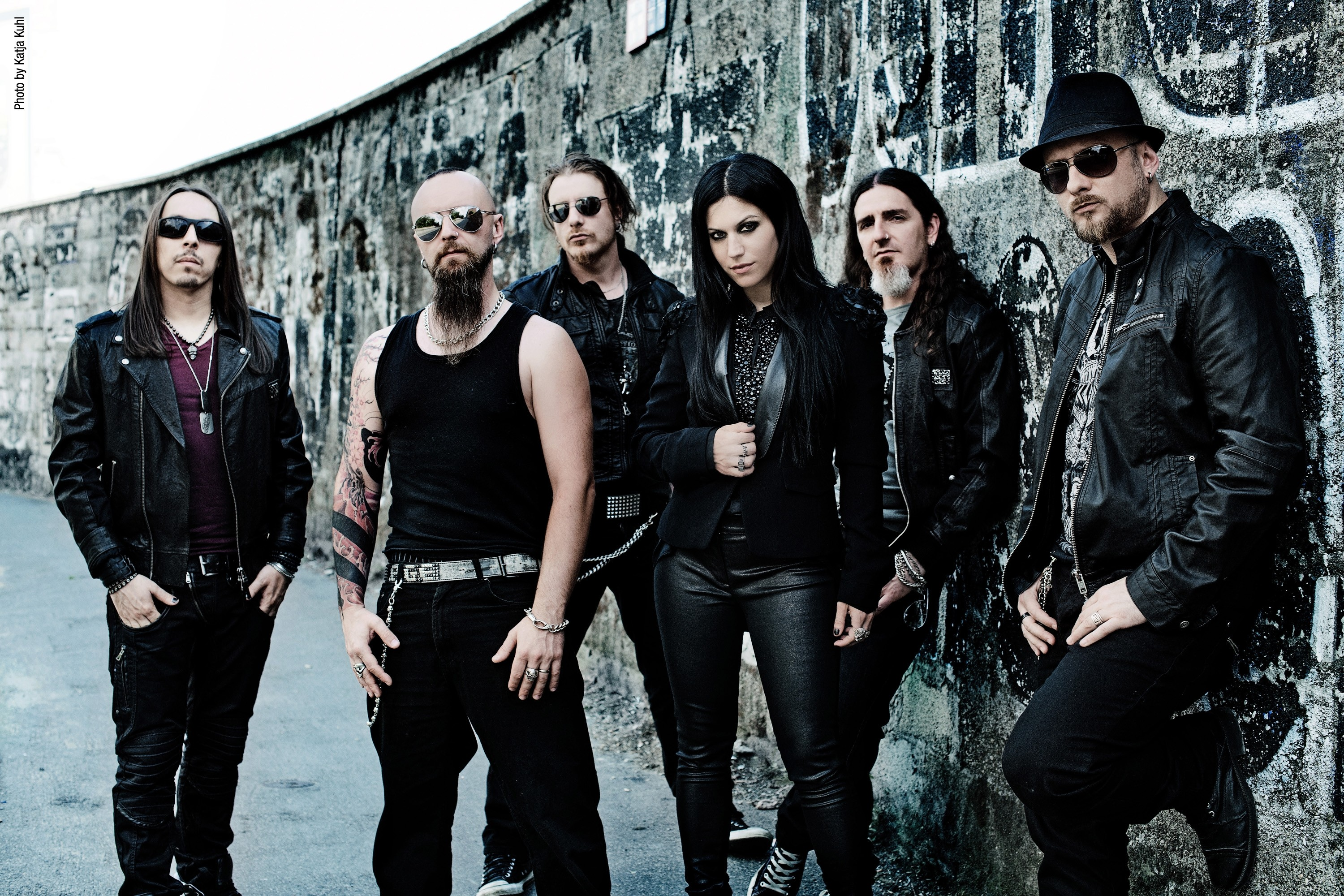 """Res: 3000x2000, Lacuna Coil – """"Dark Adrenaline"""" studio footage and preview clips"""