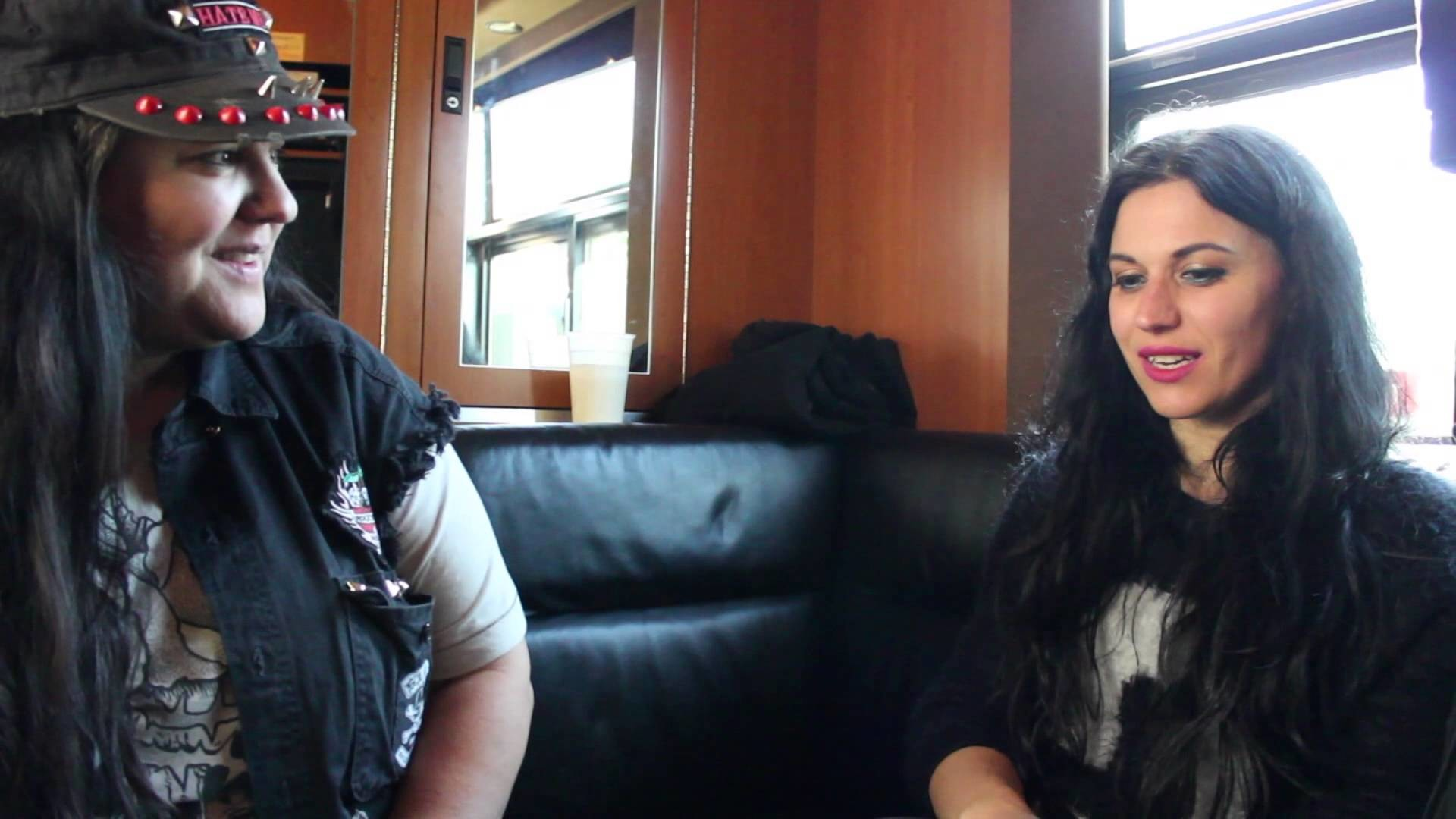 Res: 1920x1080, Cristina Scabbia of Lacuna Coil Interview with Music Junkie Press