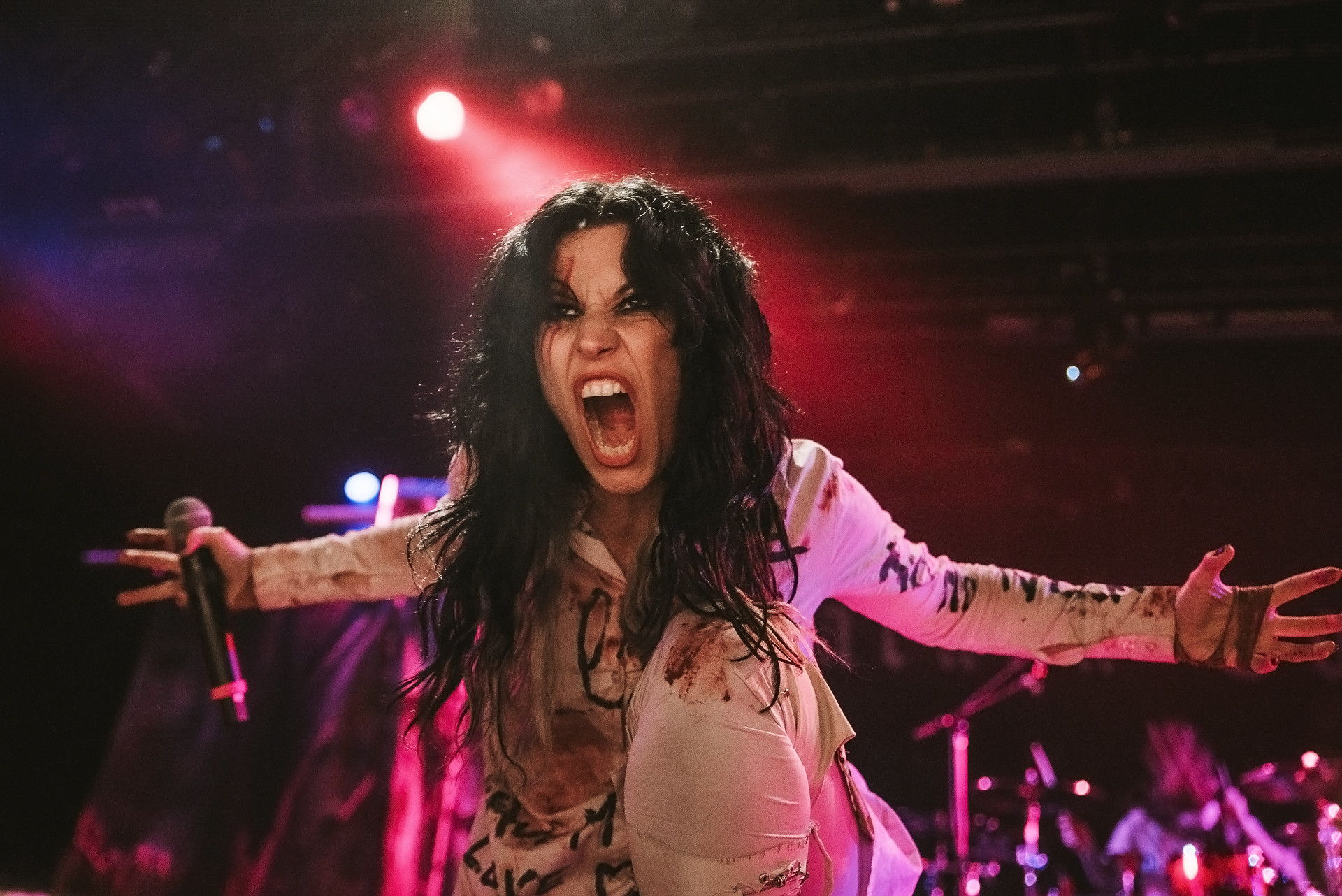Res: 1920x1282, ... year to highlight the social, economic, cultural and political  achievements of women. Like many artists today, Lacuna Coil's Cristina  Scabbia posted a ...