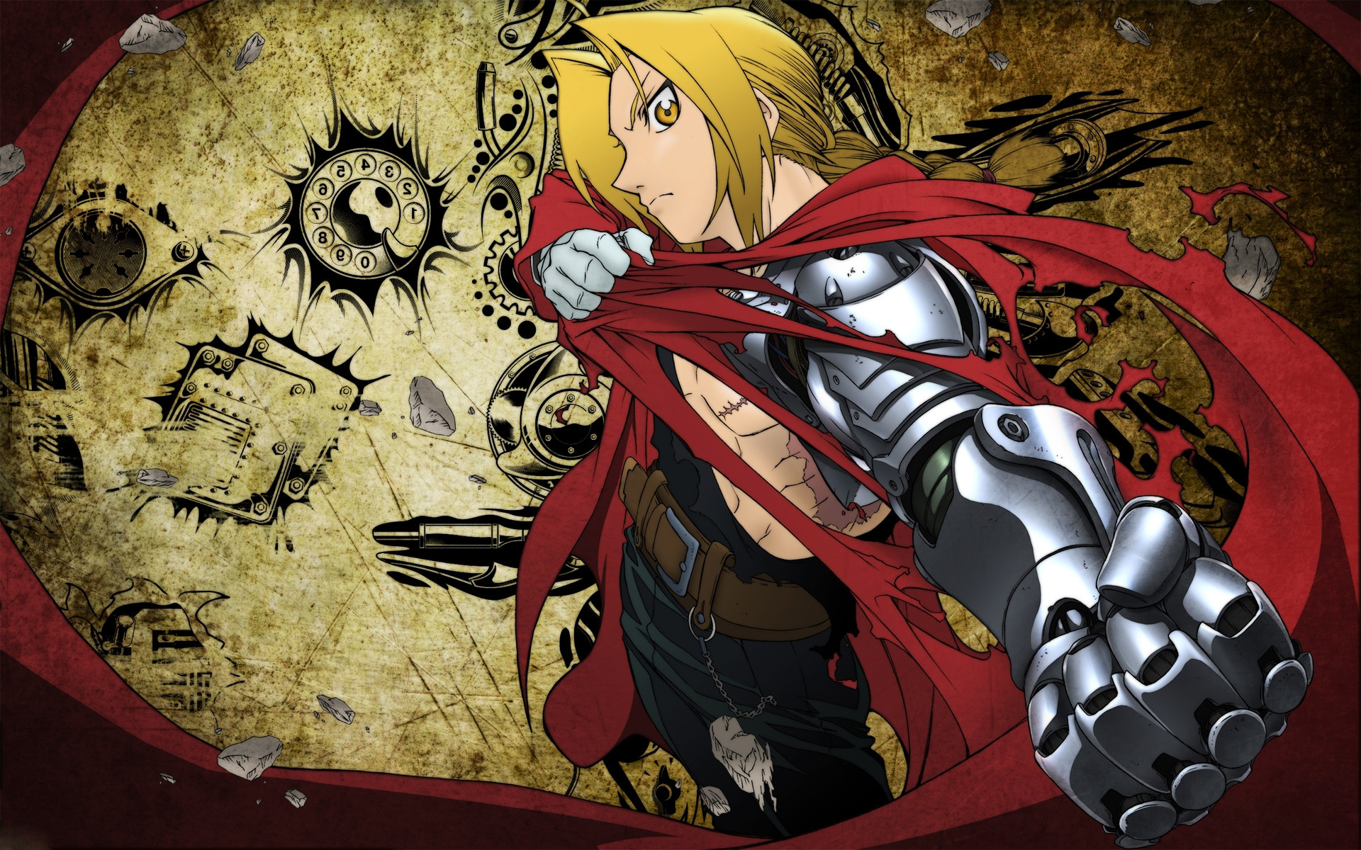 Res: 1920x1200, FullMetal Alchemist Wallpapers 17 - 1920 X 1200