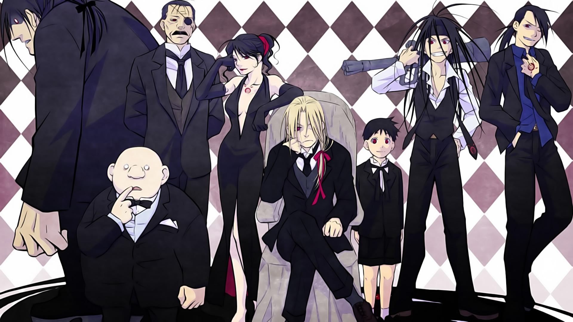 Res: 1920x1080, Anime - FullMetal Alchemist Father (Fullmetal Alchemist) Lust (Fullmetal  Alchemist) Pride (