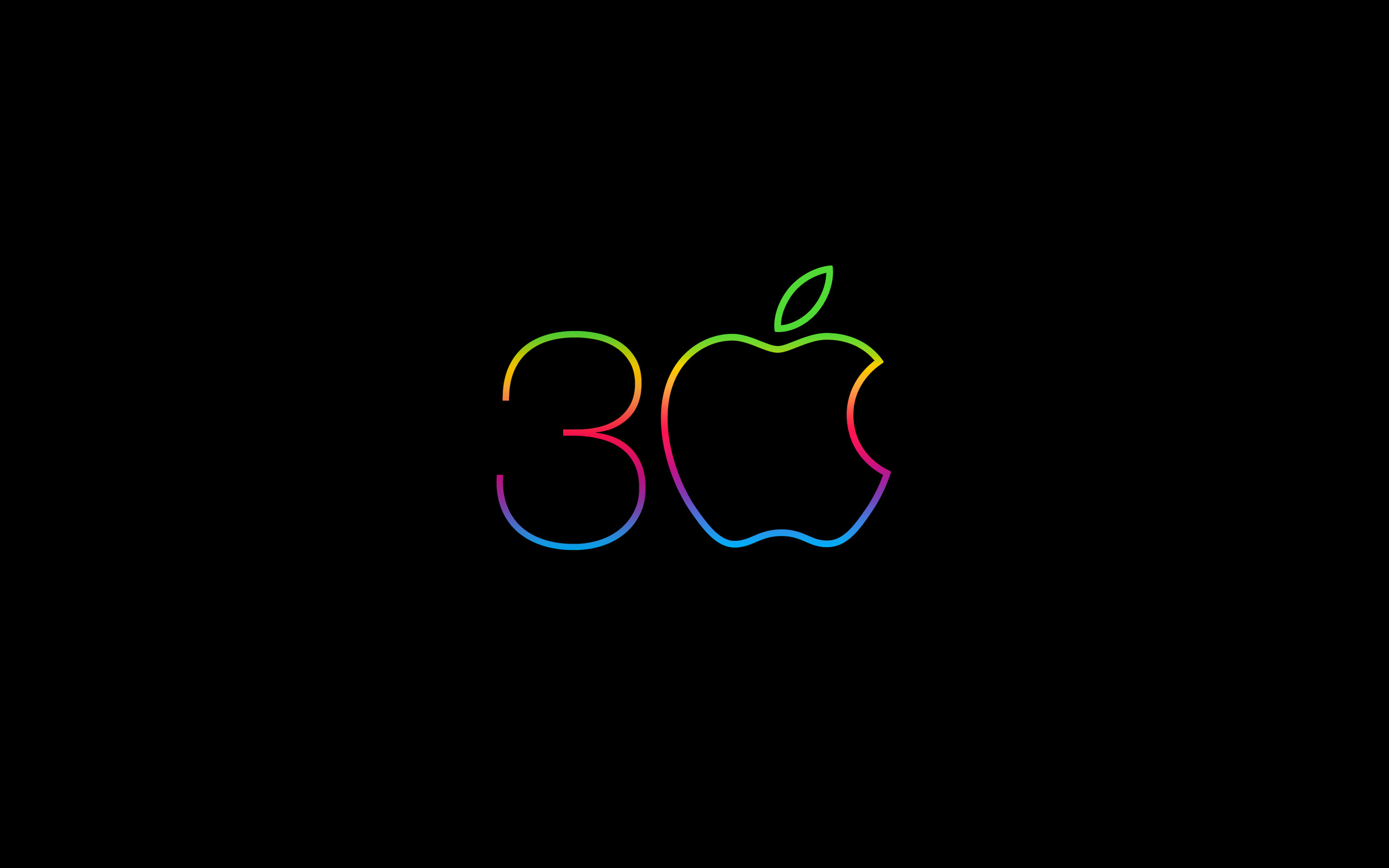 Res: 2560x1600, 30 years of Macintosh wallpapers (iPhone, iPad, Mac) on Behance