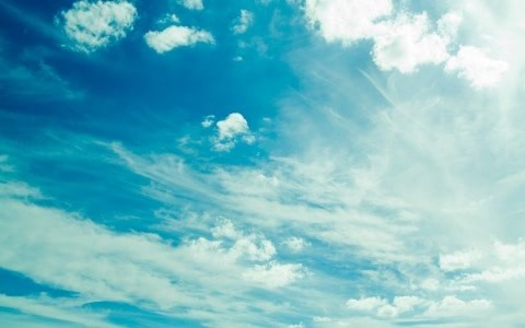 Res: 1920x1200, dell, skylines, sky, white, wallpaper, summer