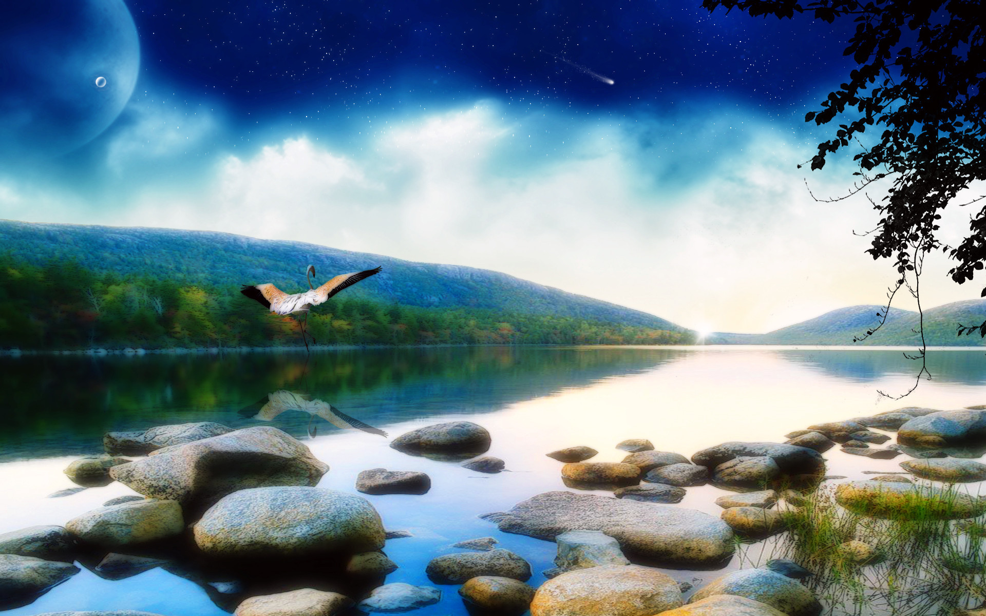 Res: 1920x1200, Cool Summer Cool Nature Backgrounds.