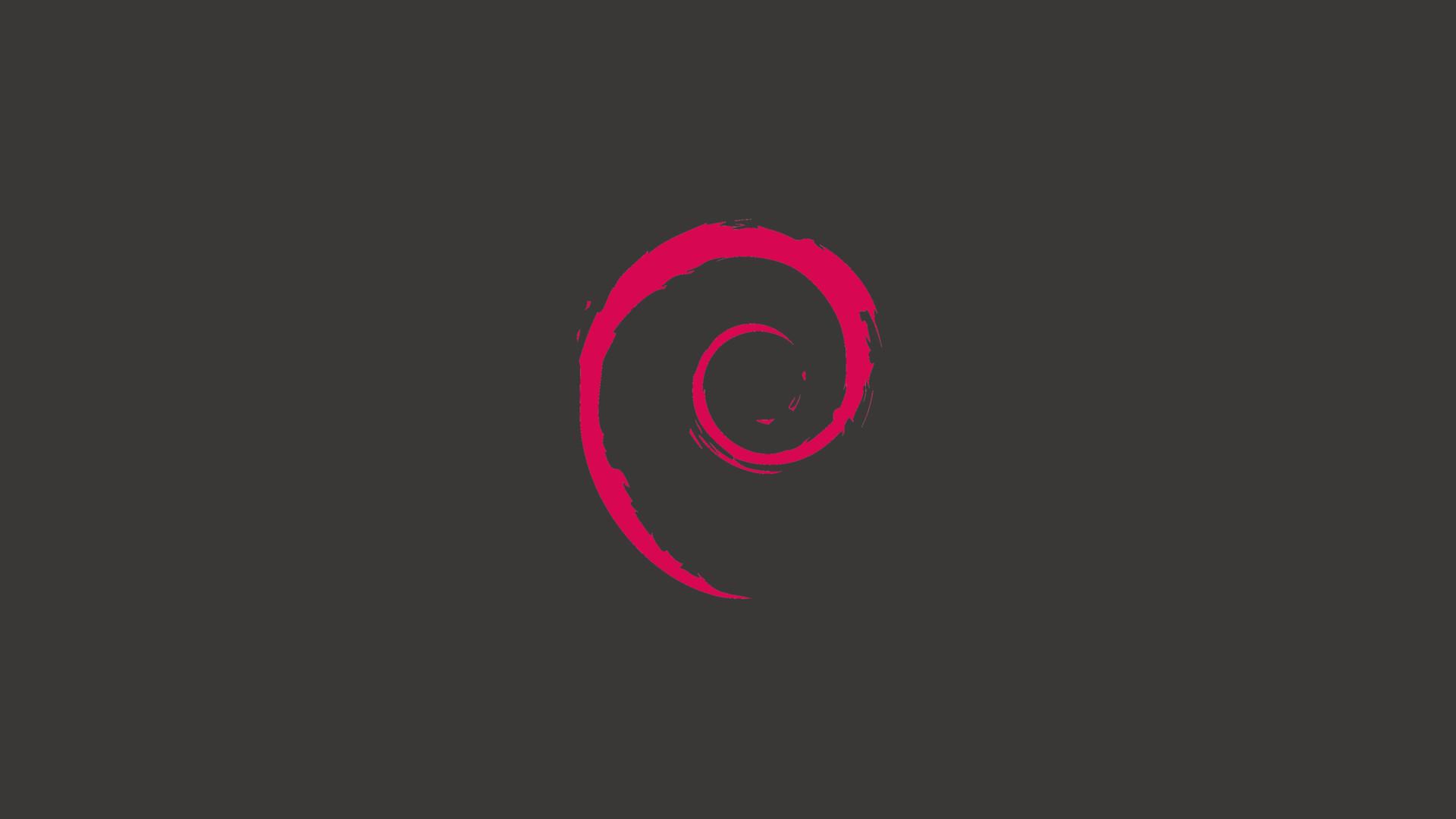 Res: 1920x1080, 1080pMinimalist Debian Wallpaper ...