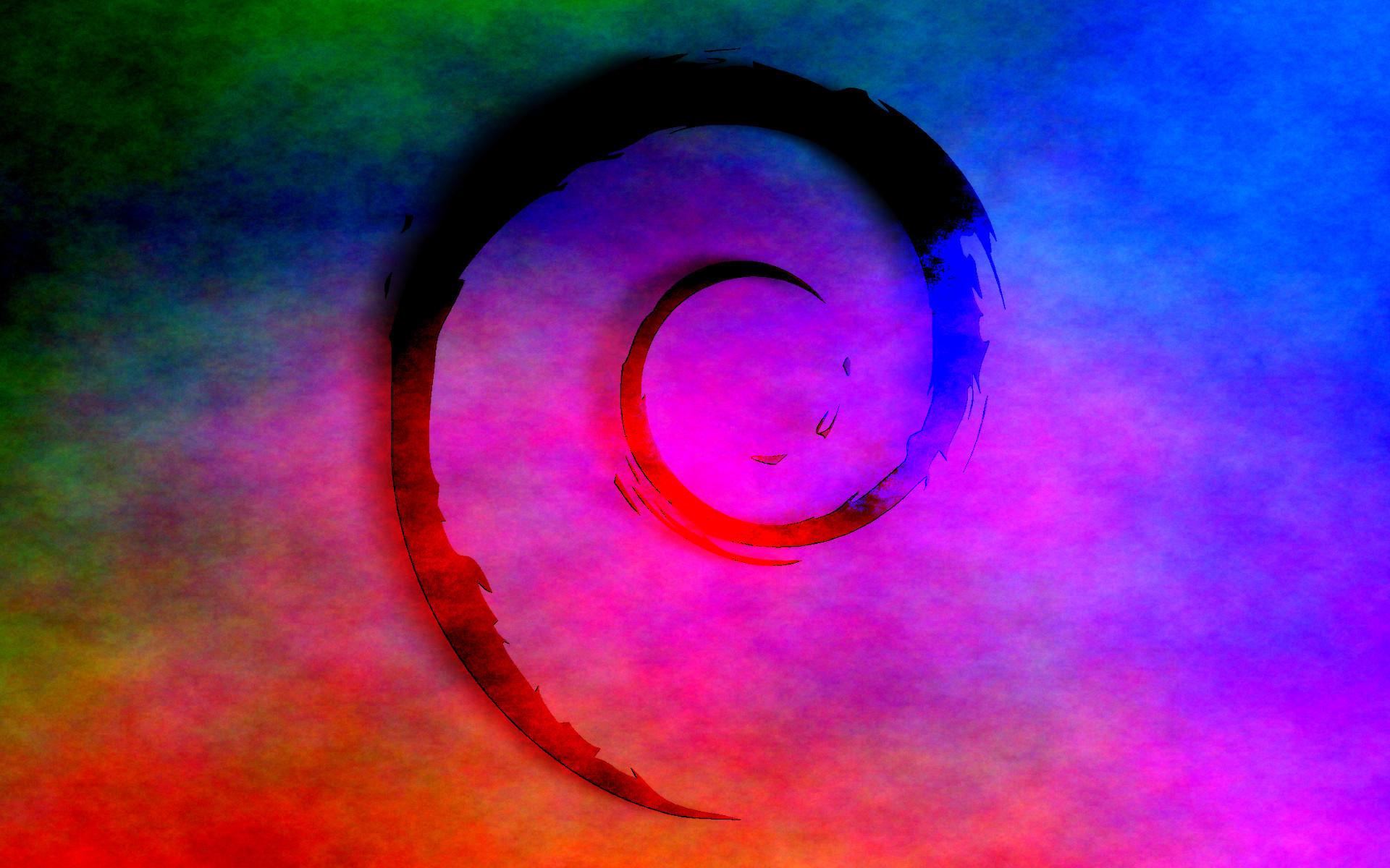 Res: 1920x1200, Psychedelic-Debian