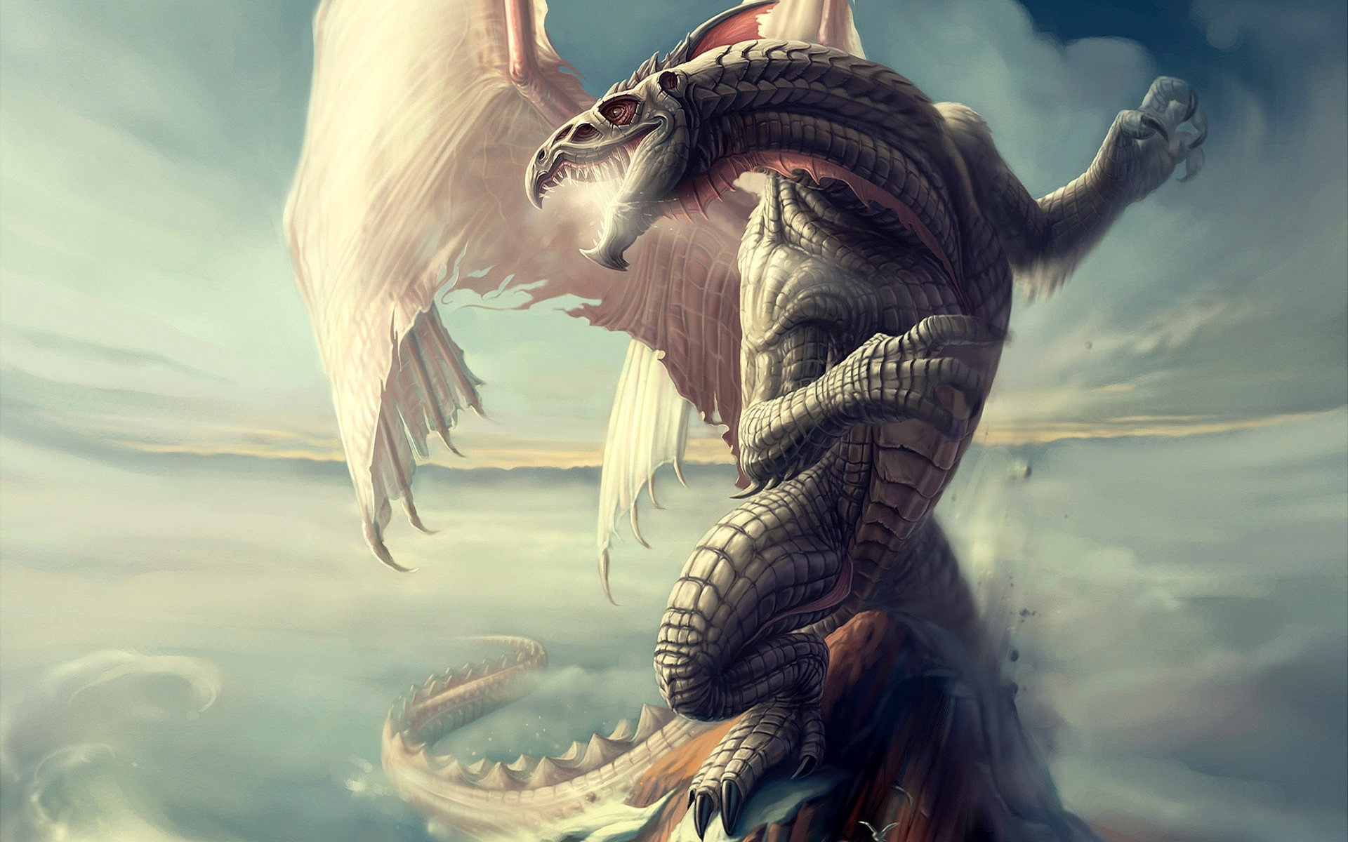 Res: 1920x1200, Epic Dragon HD Wallpaper. 3D Wallpapers