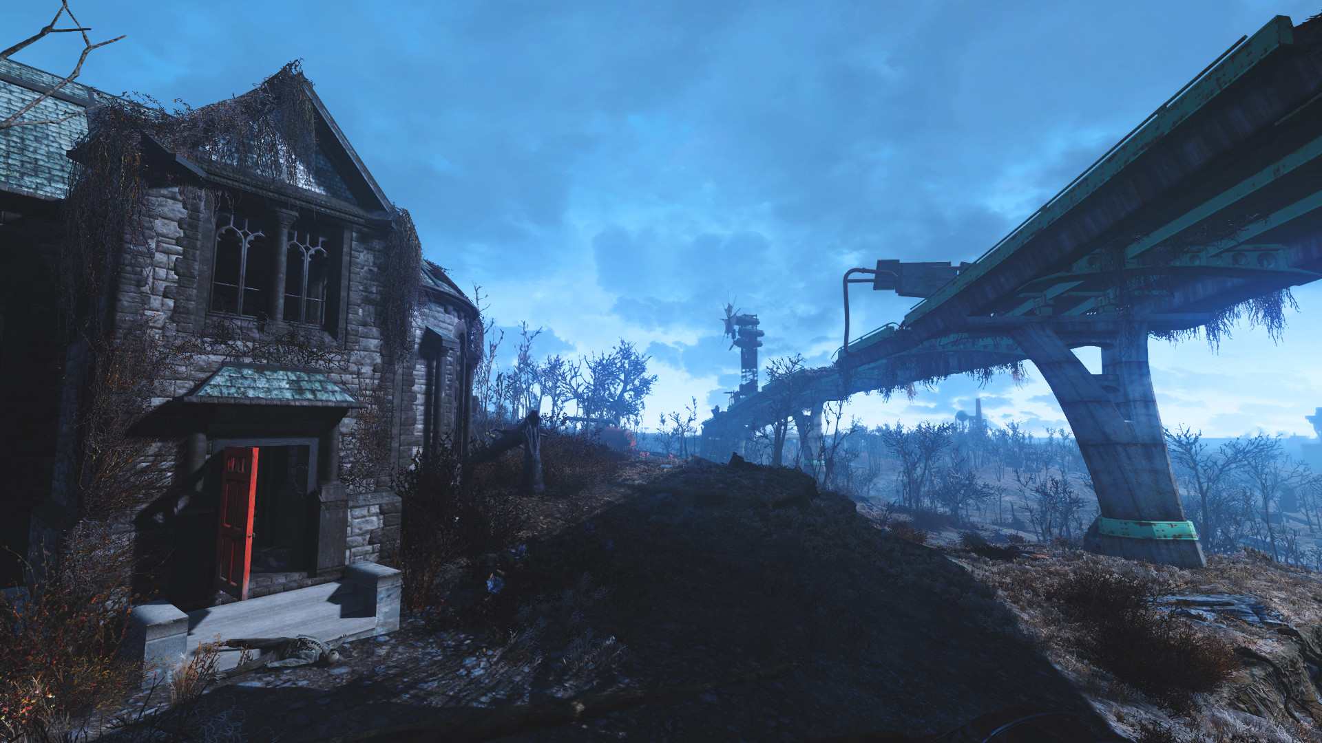 Res: 1920x1080, View Larger Image Fallout 4 HD Wallpaper Creepy House