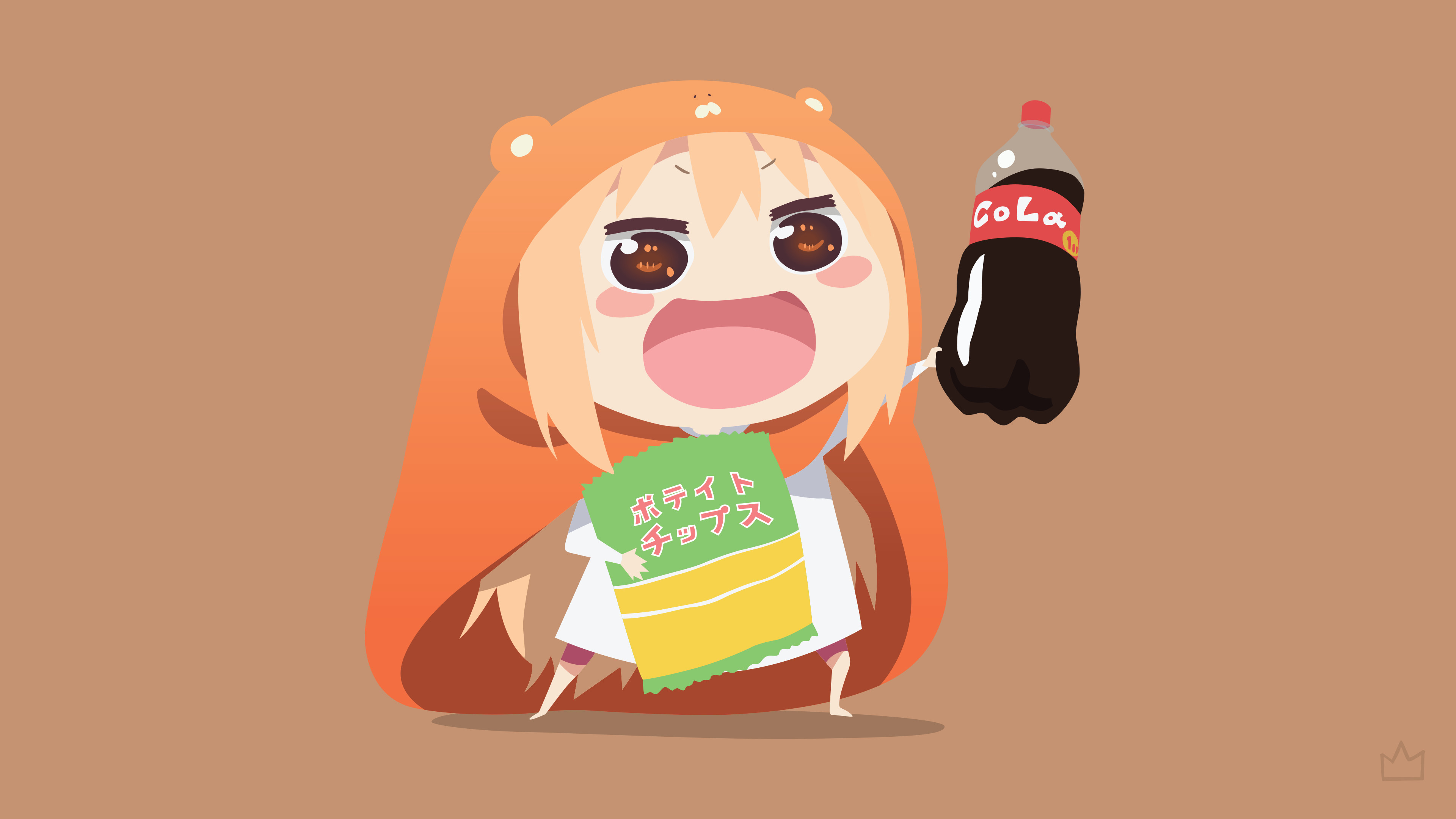 Res: 3840x2160, Himouto! Umaru-chan High Quality Background on Walls Cover