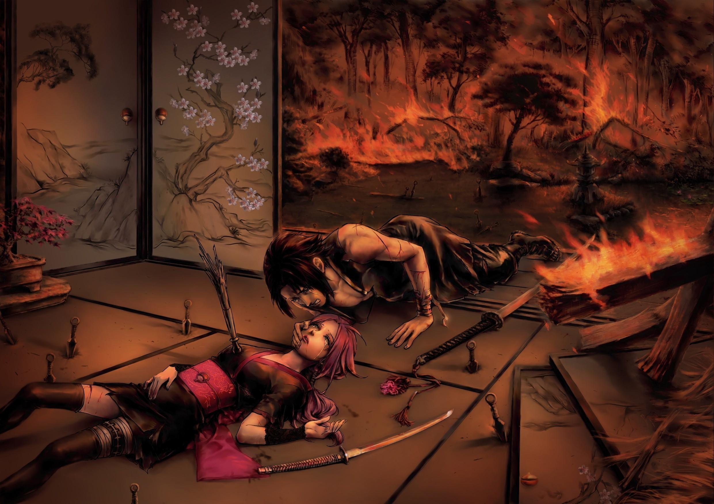 Res: 2481x1754, Naruto Shippuuden, Anime, Manga, Uchiha Sasuke, Haruno Sakura Wallpapers HD  / Desktop and Mobile Backgrounds