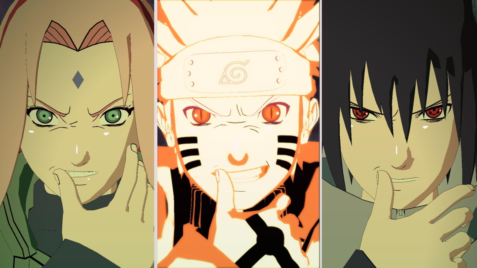 Res: 1920x1080, Naruto, Sasuke, and Sakura collage HD wallpaper