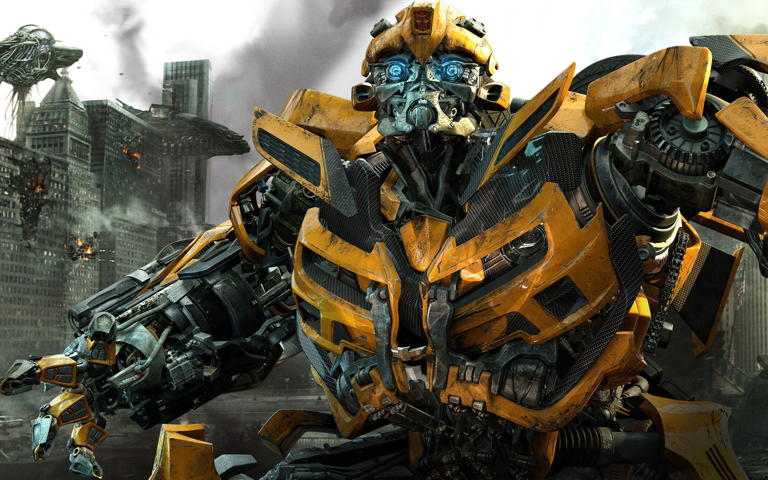 Res: 2560x1600, Bumblebee in Transformers 3