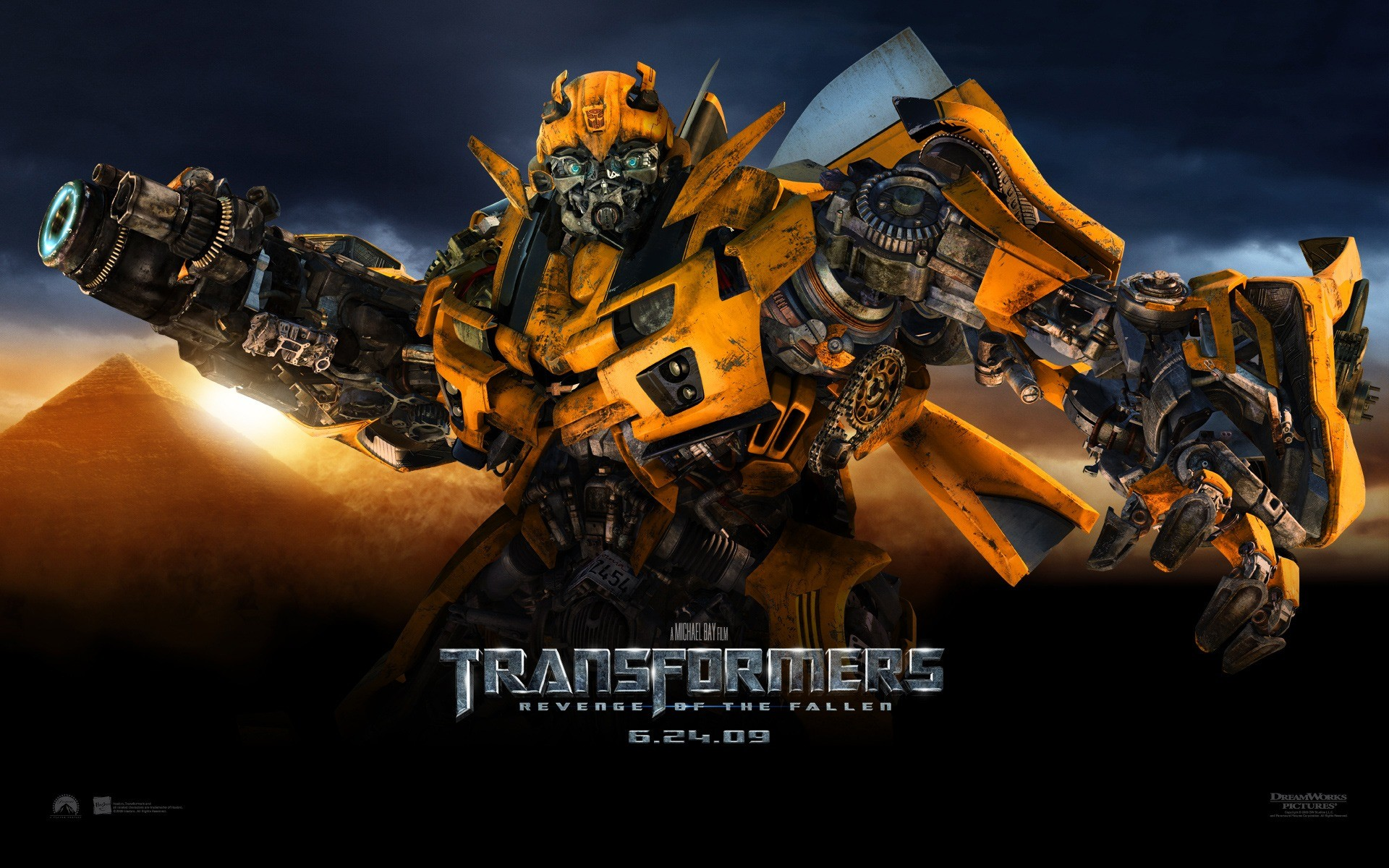 Res: 1920x1200, Transformers 2 Bumblebee Wallpaper Transformers 2 Movies Wallpapers