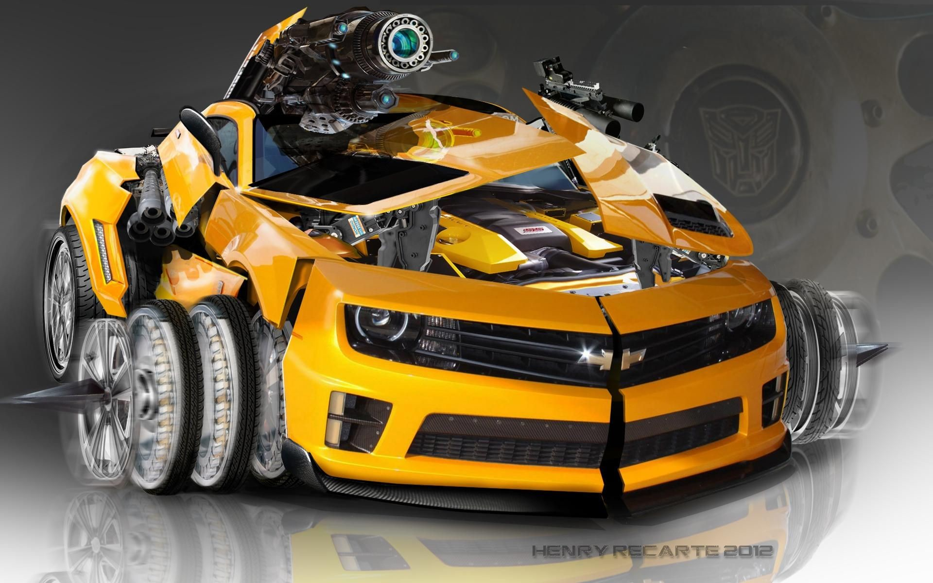 Res: 1920x1200, Transformers Bumblebee Wallpapers Wallpaper × Transformer