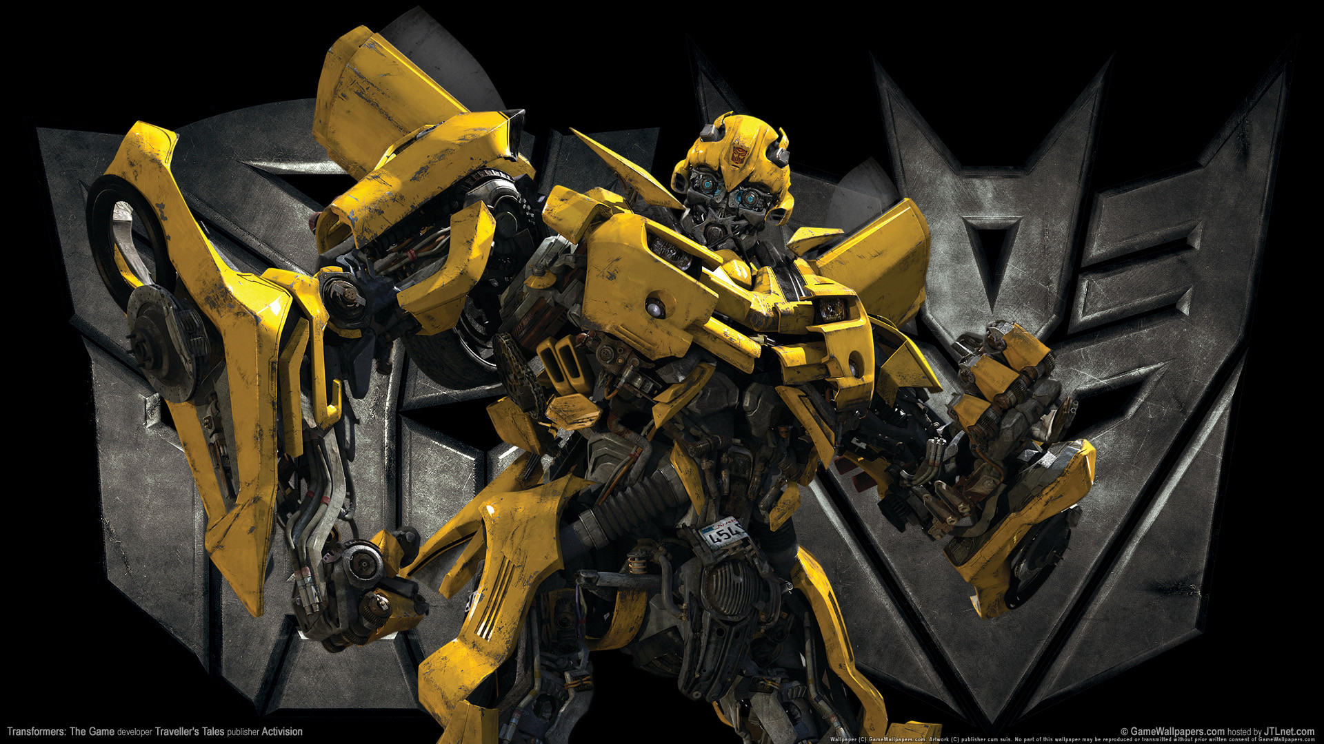 Res: 1920x1080, Transformers The Game Bumble Bee Wallpaper