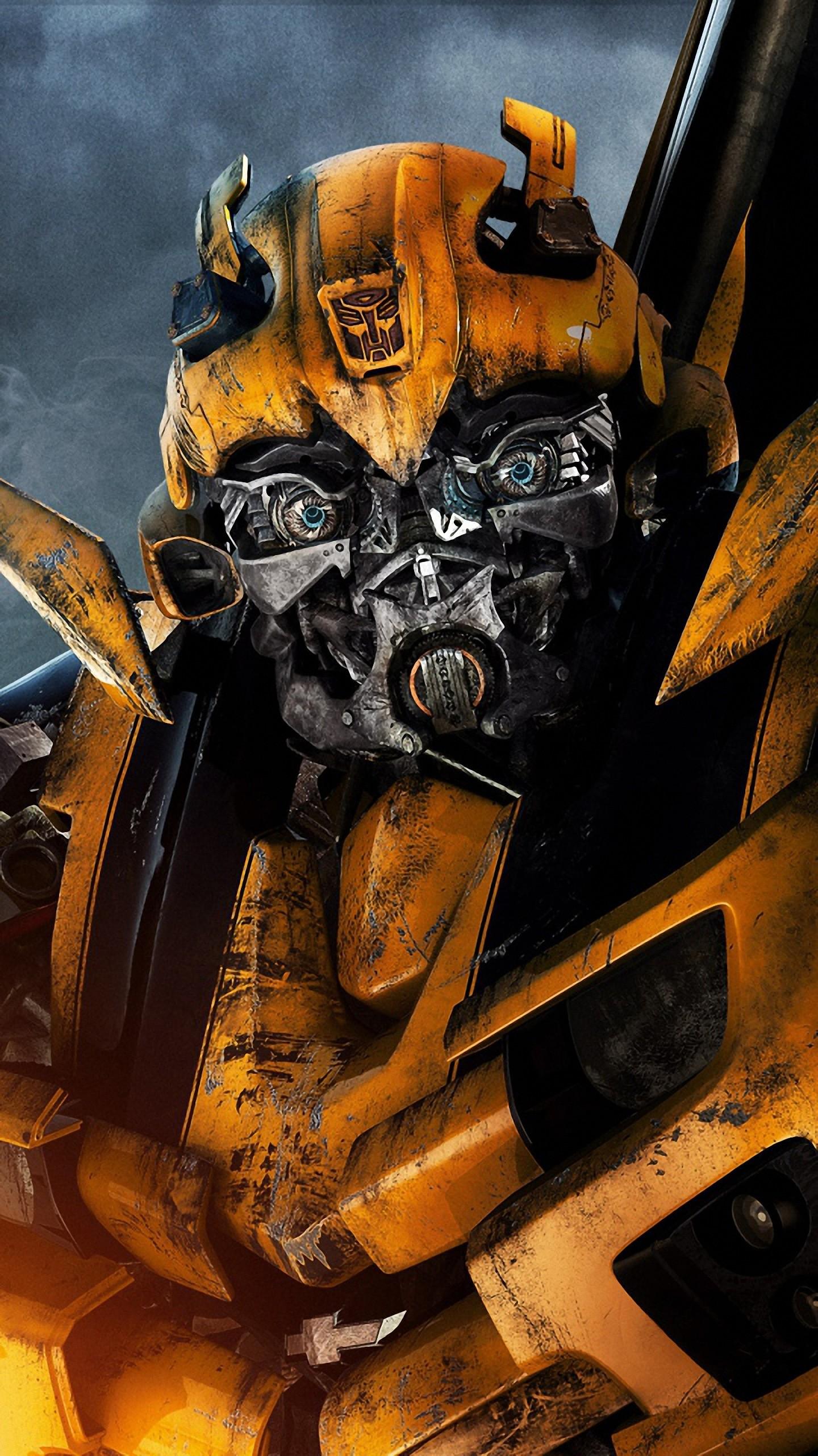 Res: 1440x2560, hd  transformers bumblebee xiaomi mi5 wallpapers