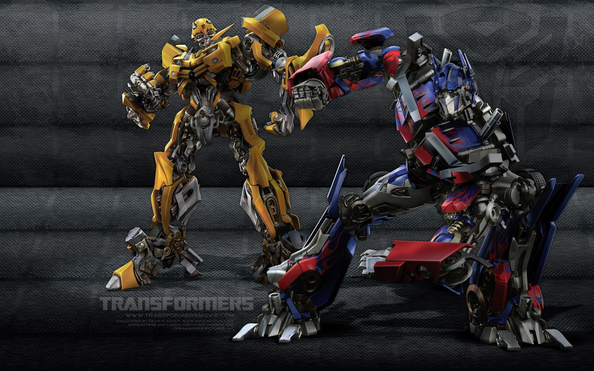 Res: 1920x1200, Bumblebee Optimus Wallpaper Transformers Movies Wallpapers