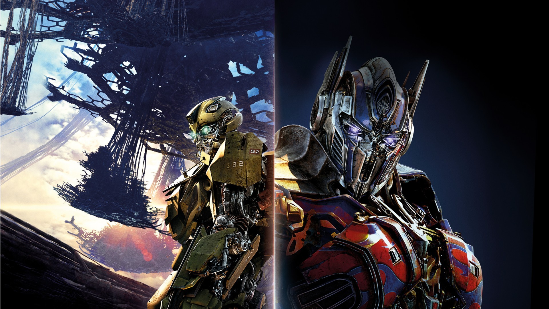 Res: 1920x1080, Prime Transformers Last Knight Bumblebee