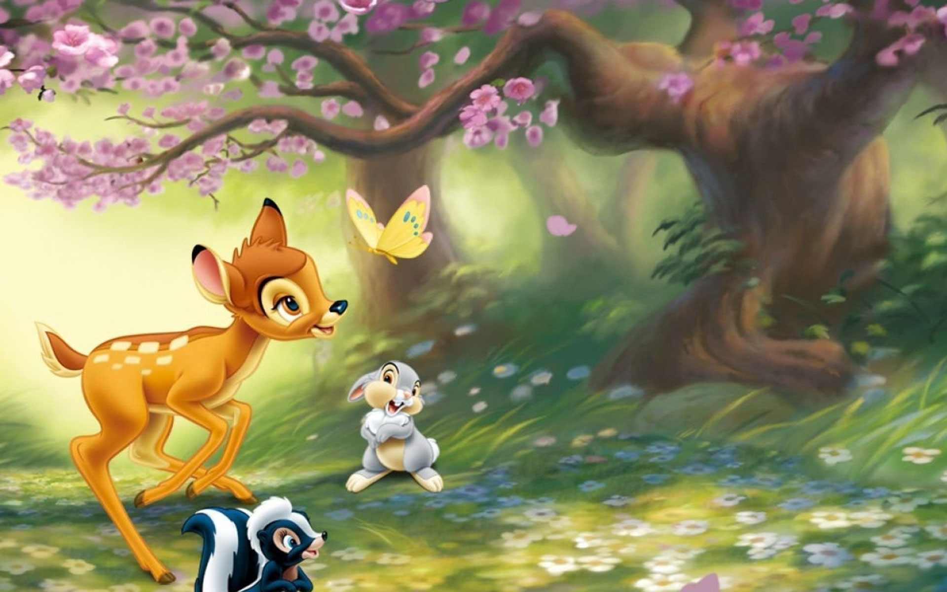 Res: 1920x1200, Bambi And Thumper