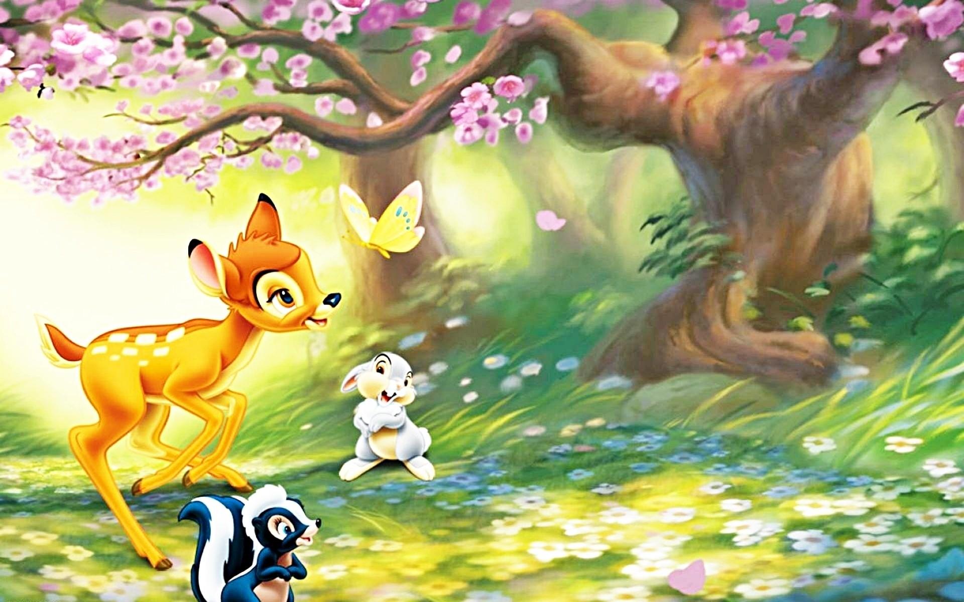 Res: 1920x1200, walt disney bambi cartoon dibujos animados wallpaper