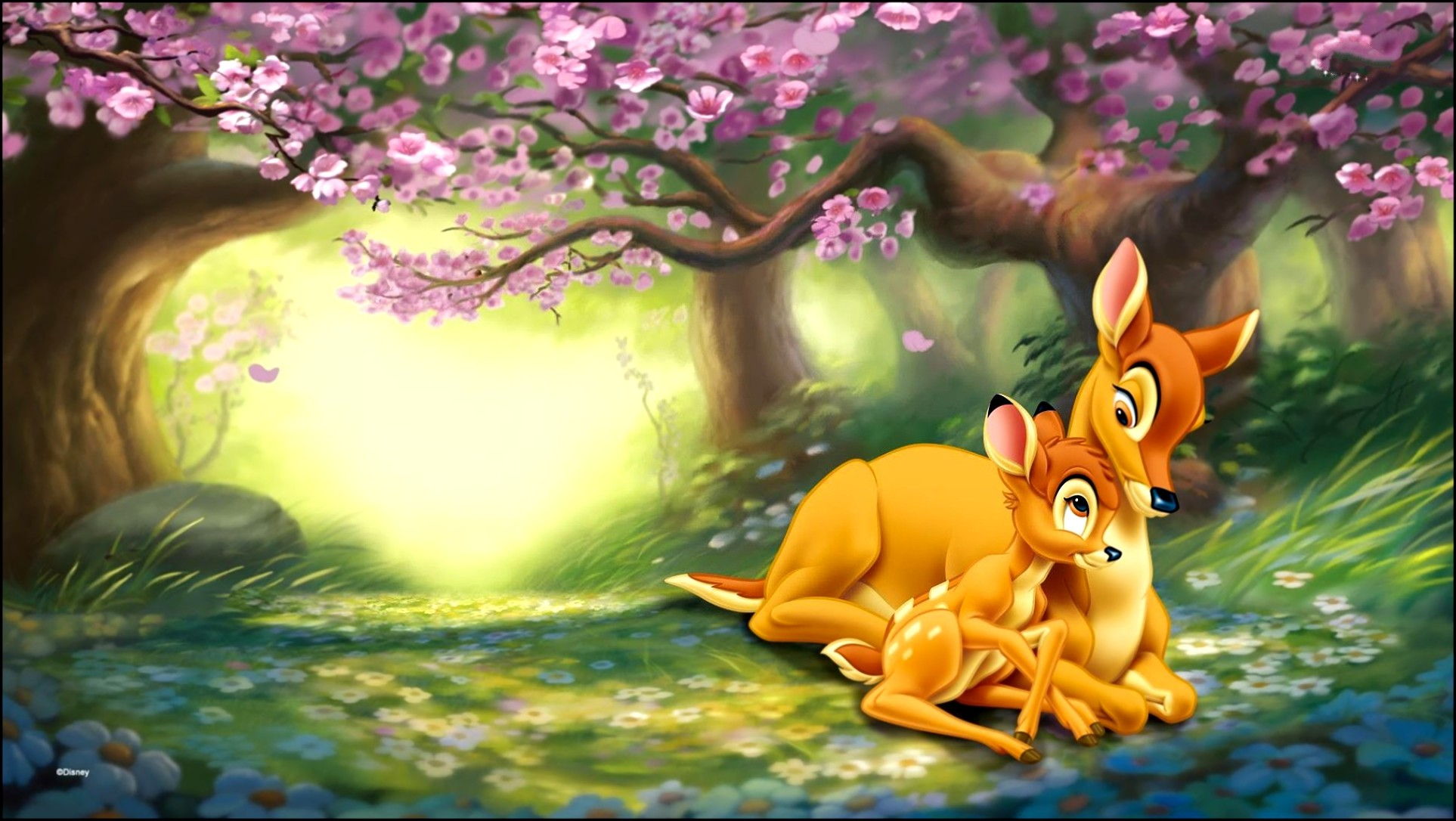 Res: 1926x1086, Bambi Background Free Download.