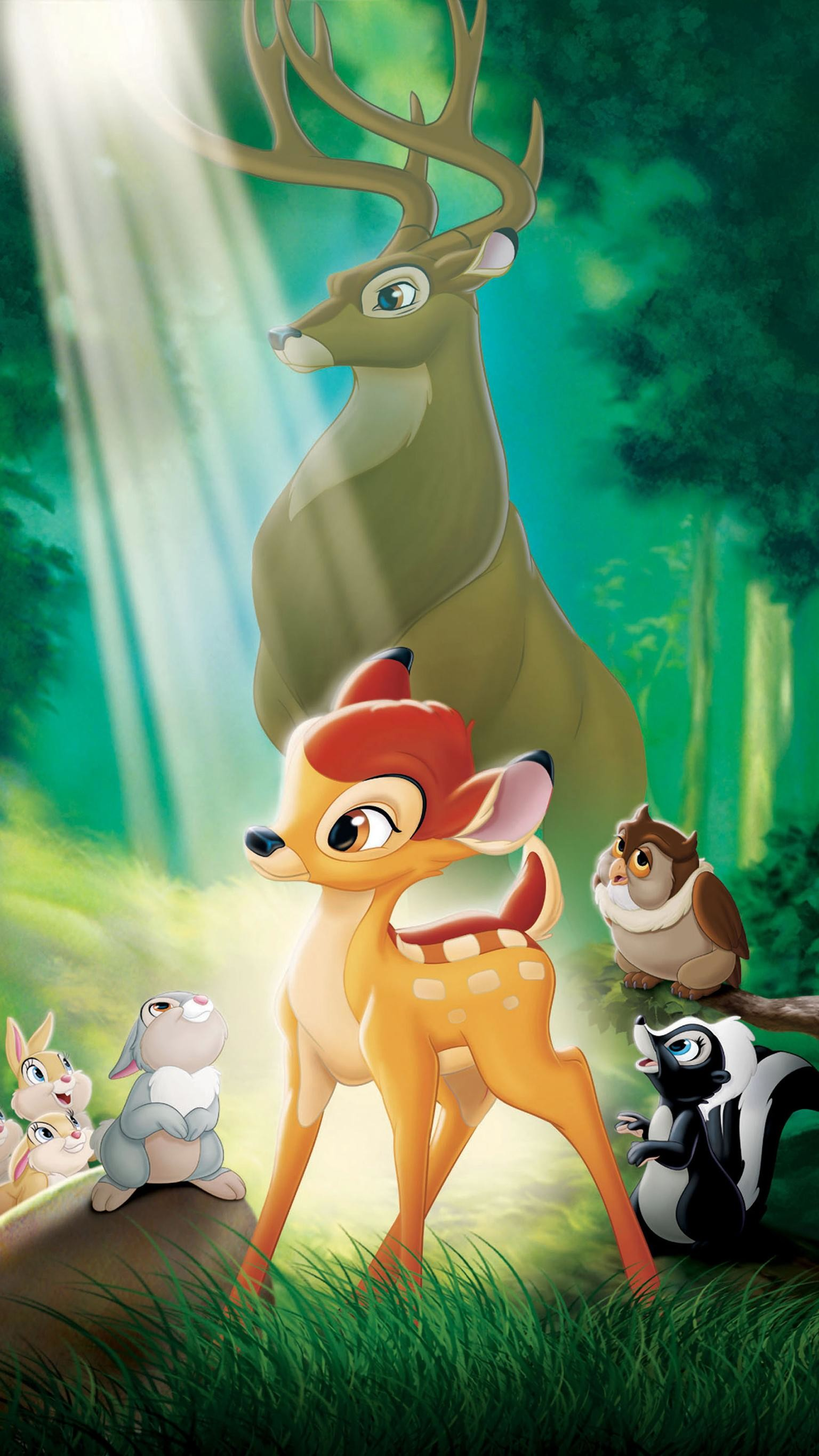"""Res: 1536x2732, Wallpaper for """"Bambi"""" ..."""