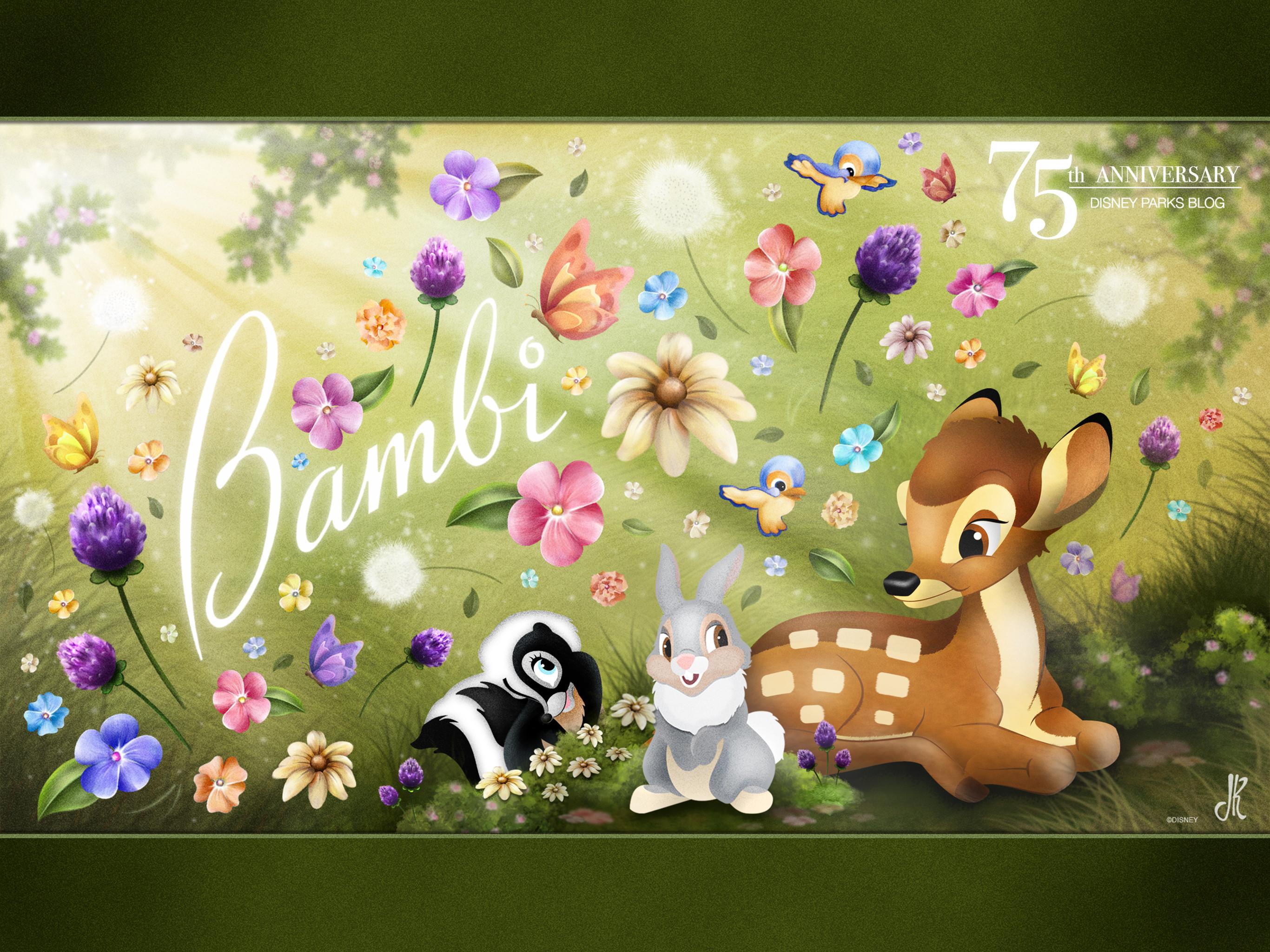 Res: 2732x2048, 'Bambi' Wallpaper