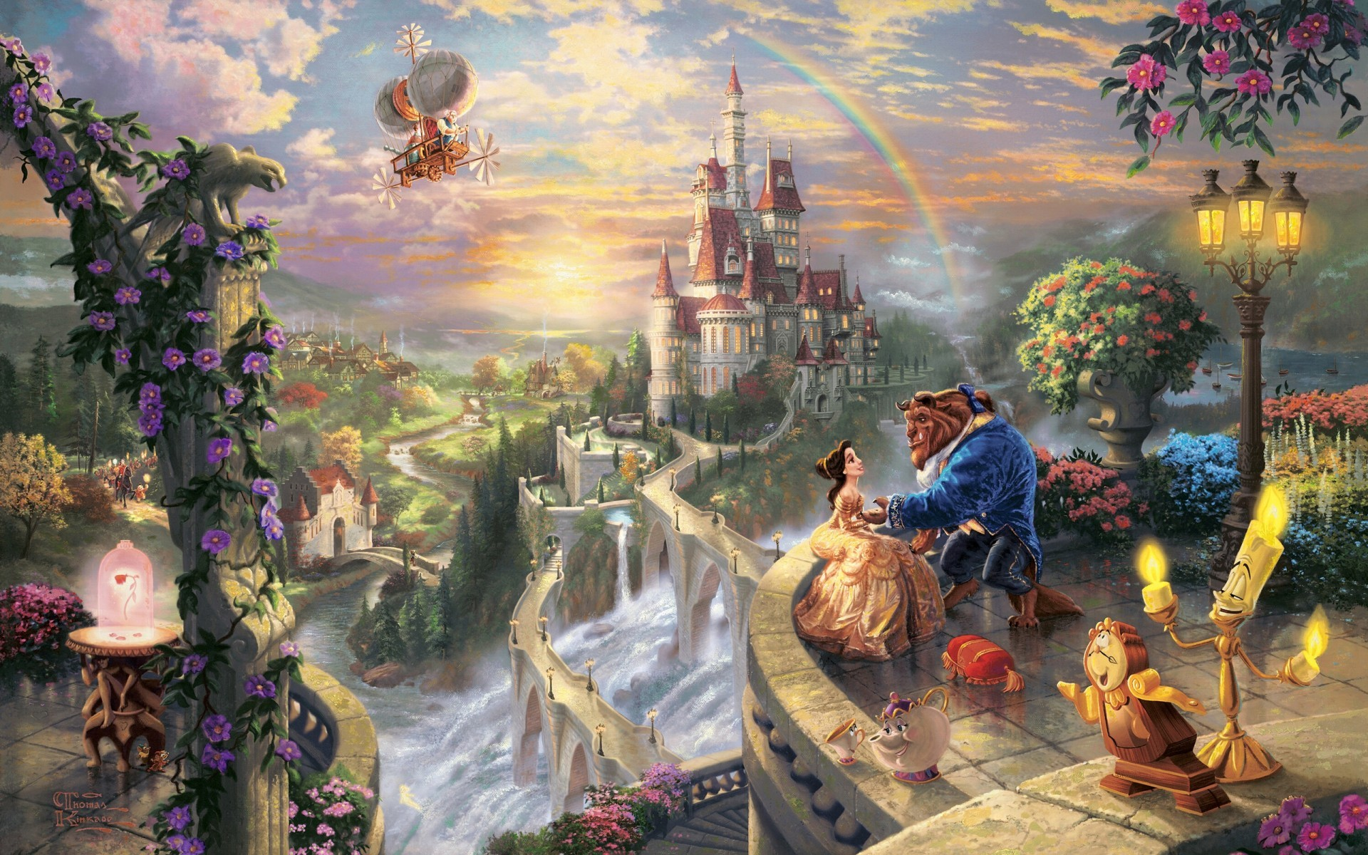 Res: 1920x1200, Previous: Beauty & The Beast ...