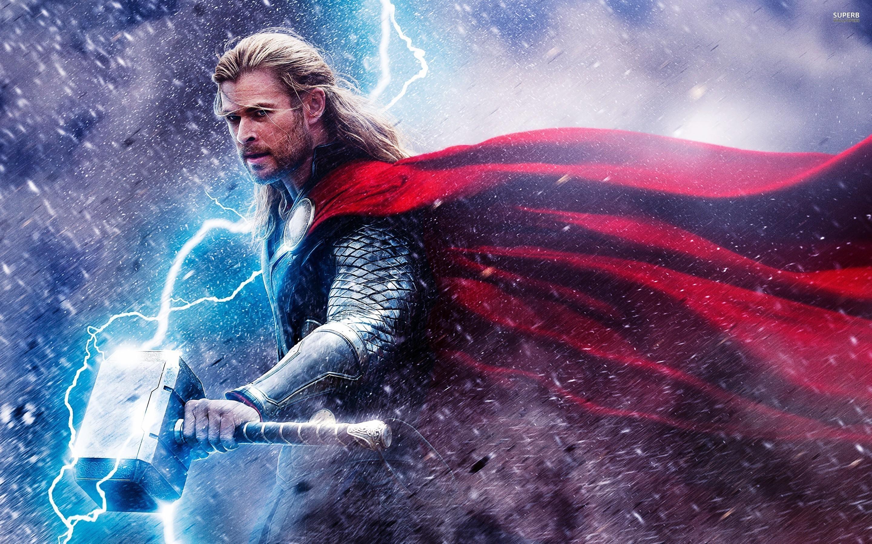 Res: 2880x1800, Thor Wallpaper