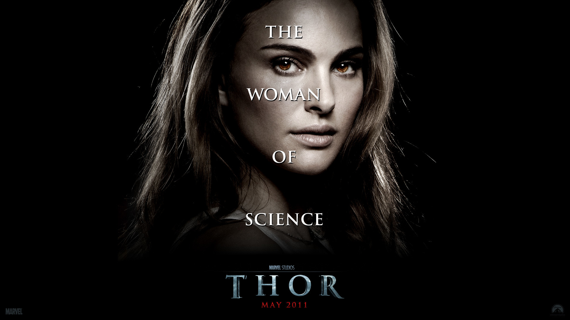 Res: 1920x1080, Dr. Jane Foster from the Marvel Studios movie Thor wallpaper