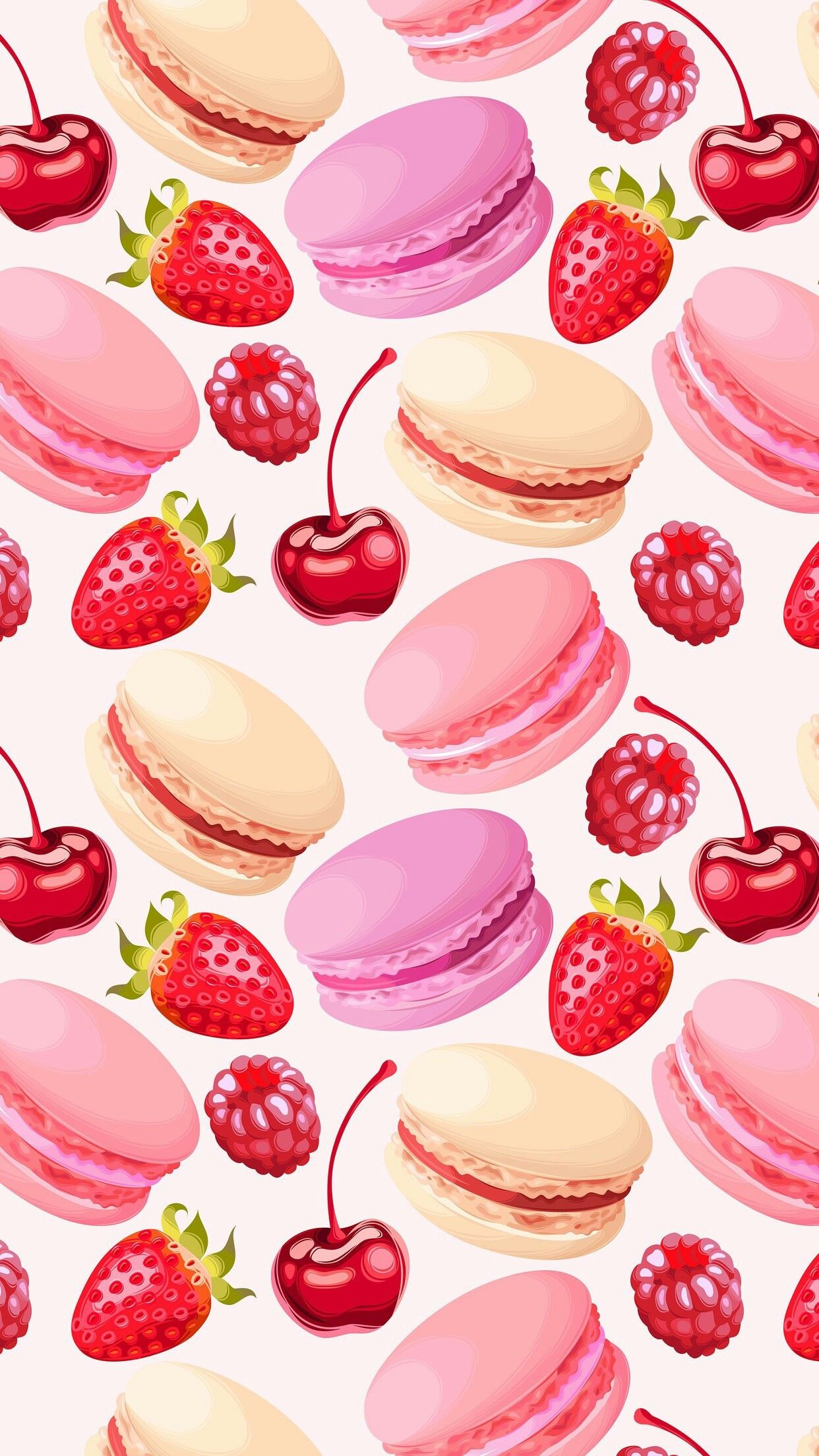 Res: 1242x2208, Cute Girly Macaroon Wallpaper for Iphone - Best Wallpaper HD