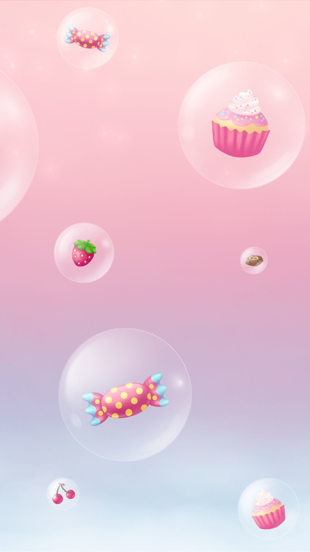 Res: 1080x1920, Girly cute iPhone6s wallpaper : cupcakes