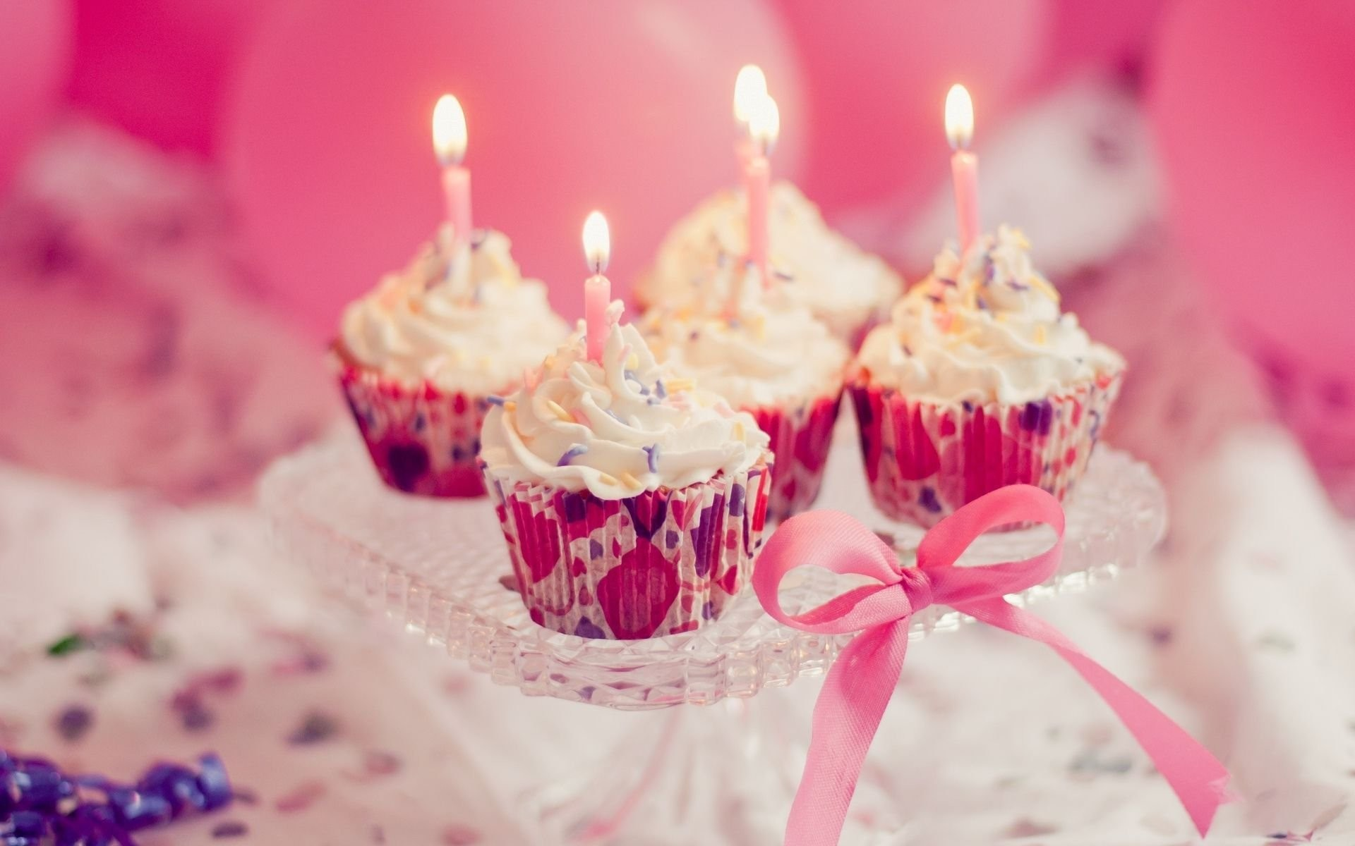 Res: 1920x1200, Food Wallpaper: Birthday Cupcake Wallpapers Images for HD .