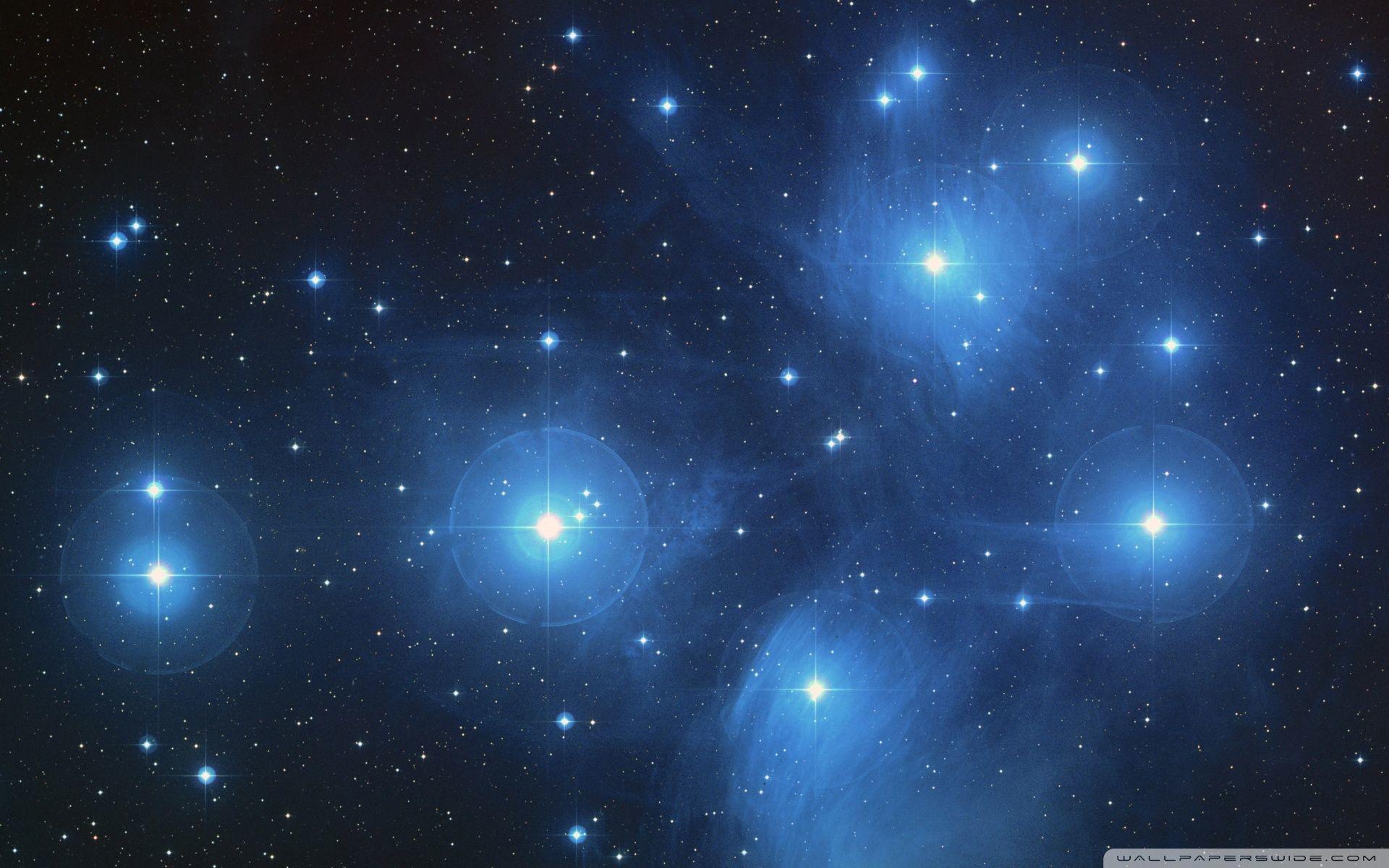 Res: 1920x1200, Pleiades Star Cluster HD desktop wallpaper : High Definition