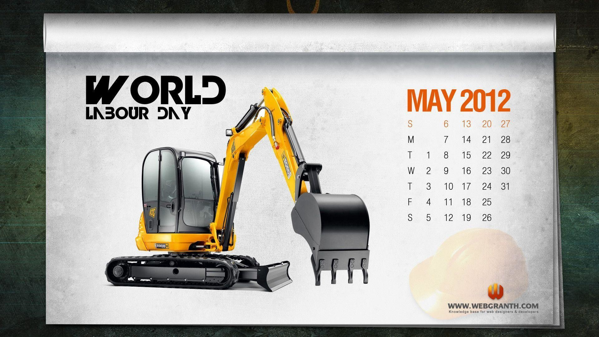 Res: 1920x1080, Download Free World Labor Day Calendar Wallpaper – Webgranth 2014