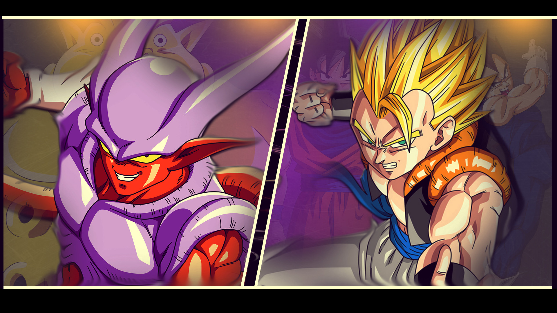 Res: 1920x1080, ... Gogeta and Janemba - DBZ Wallpaper 1920*1080 by Oirigns