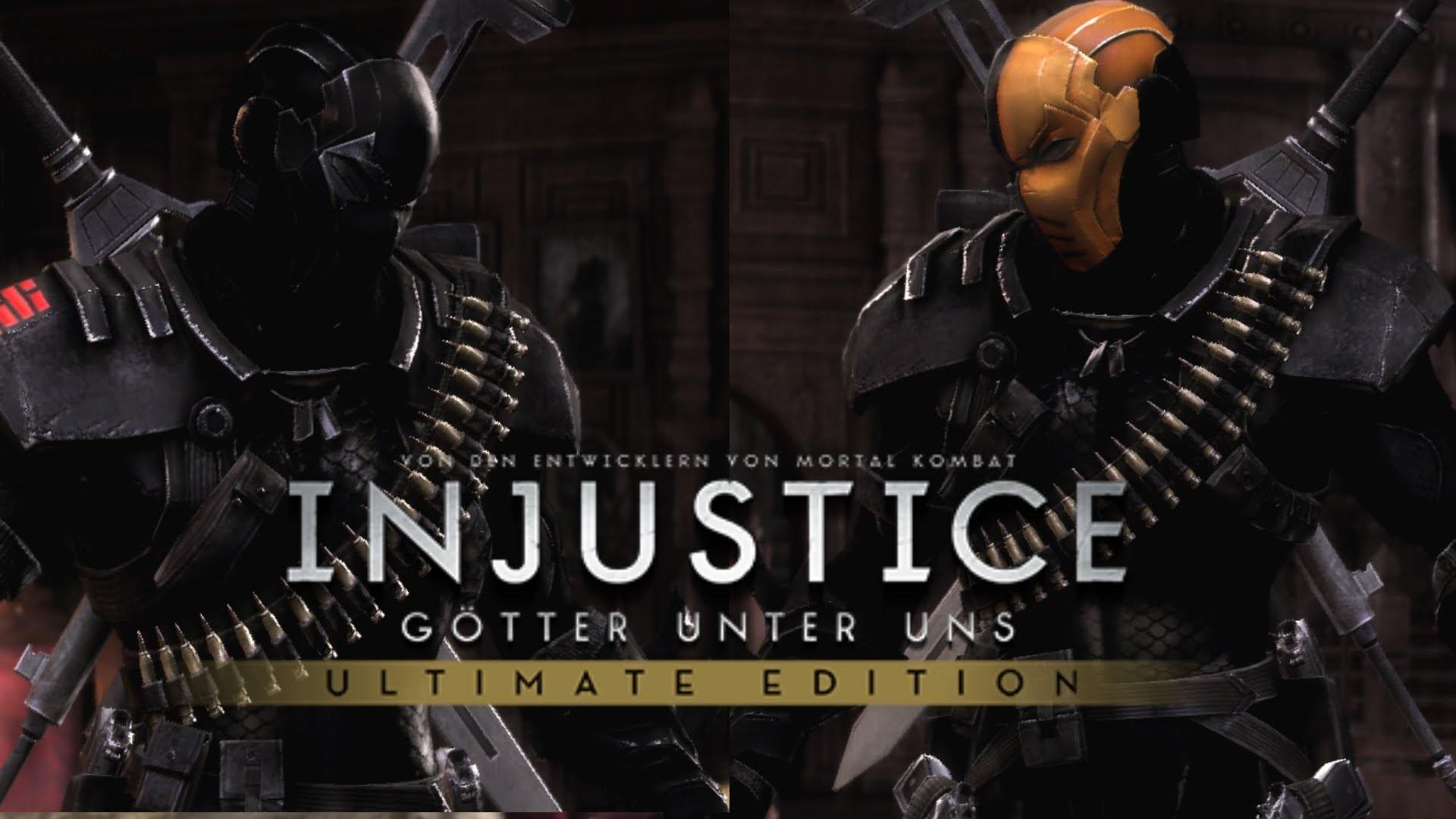 Res: 1920x1080, Injustice Ultimate Edition PC | Deathstroke (Snake Eyes) vs Deathstroke  (Arrow Season 2) Skin Mod - YouTube
