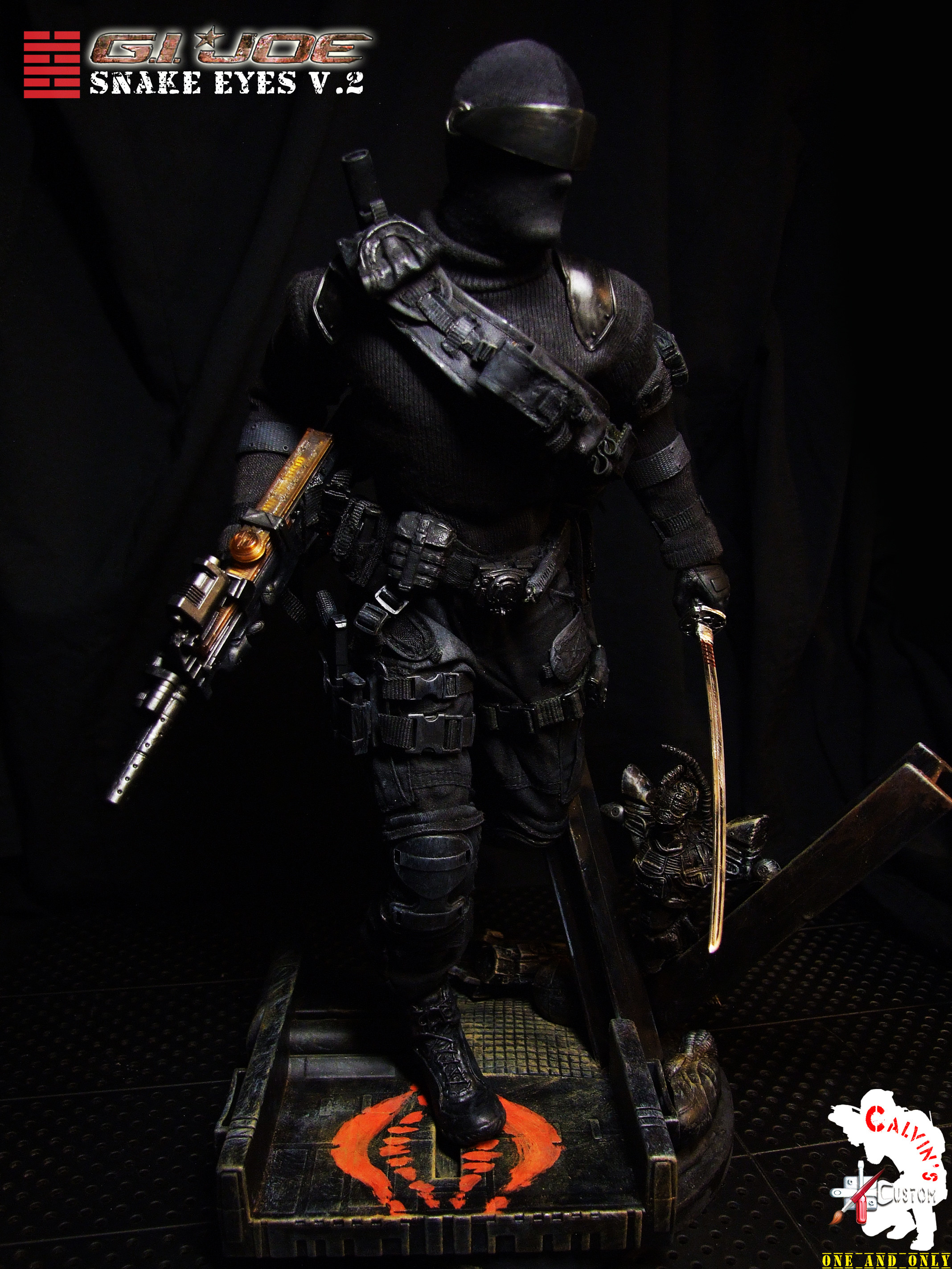 Res: 2136x2848, Snake Eyes images Calvin's Custom Snake Eyes version 2 HD wallpaper and  background photos