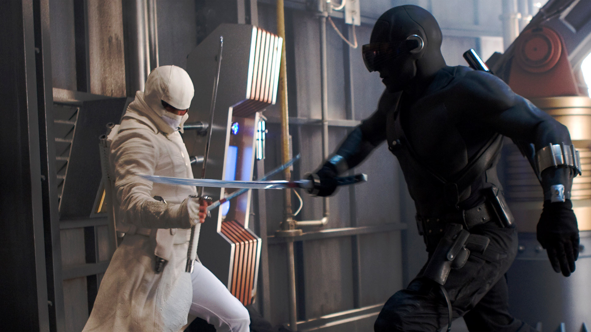 Res: 1920x1080, G.I. Joe: The Rise of Cobra (2009) Storm Shadow vs Snake Eyes HD. Â«Â«