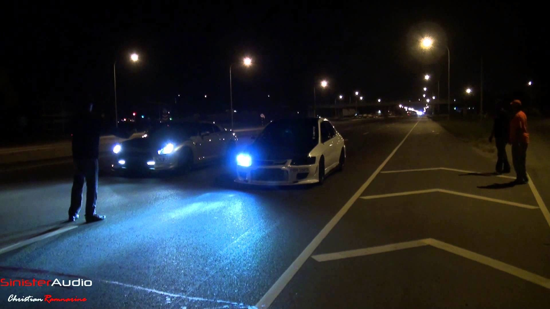 Res: 1920x1080, 2008 Nissan GTR vs Mitsubishi Evolution 7 (street racing) - YouTube