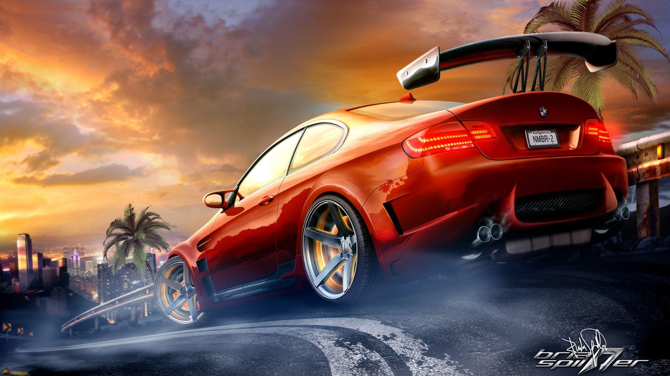 Res: 2560x1440, Street Racing Cars Wallpapers Desktop PC Sports Car Racing Wallpaper Hd