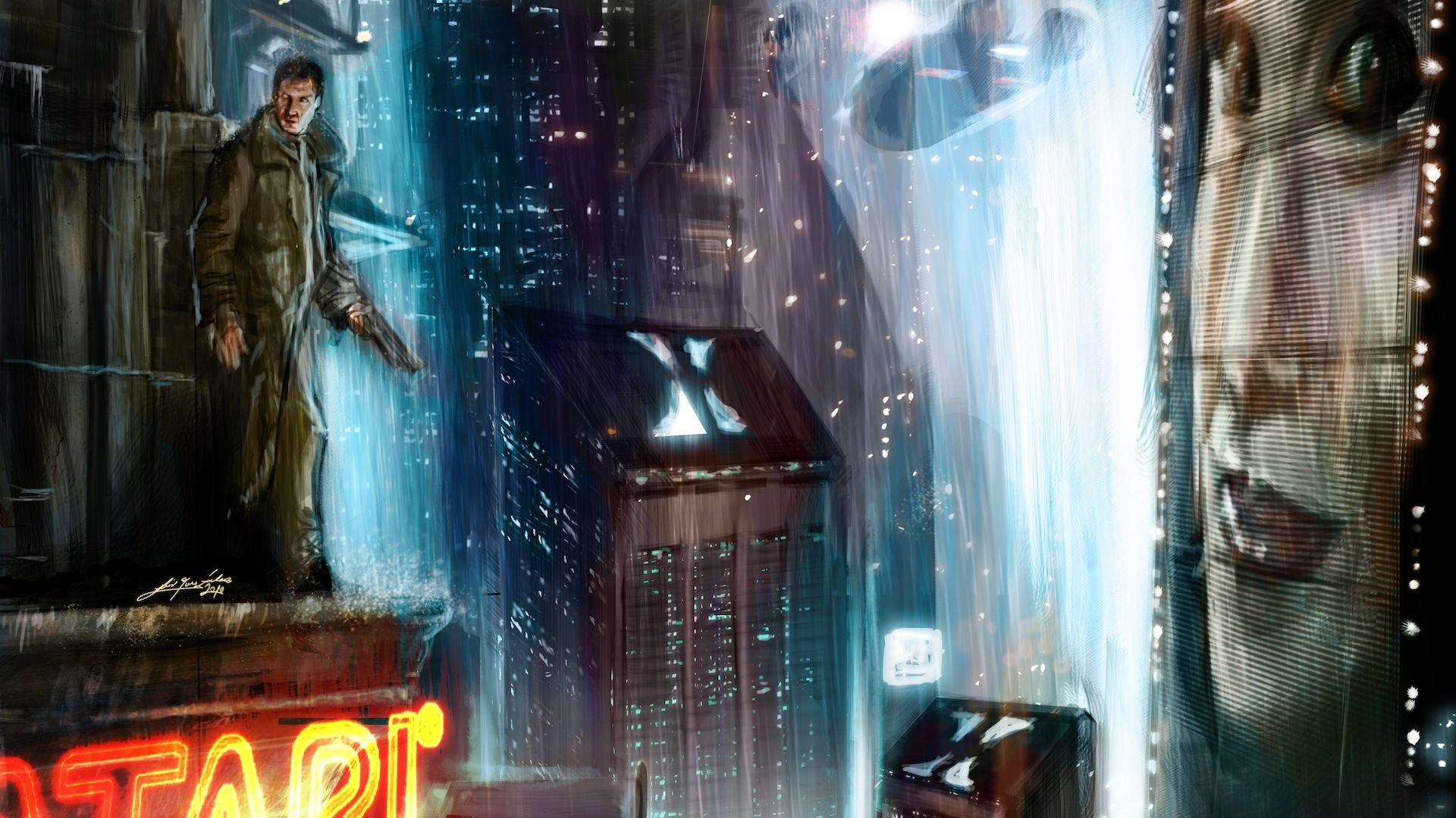 Res: 1920x1080, These Futuristic City Wallpapers Will Take Your Breath Away
