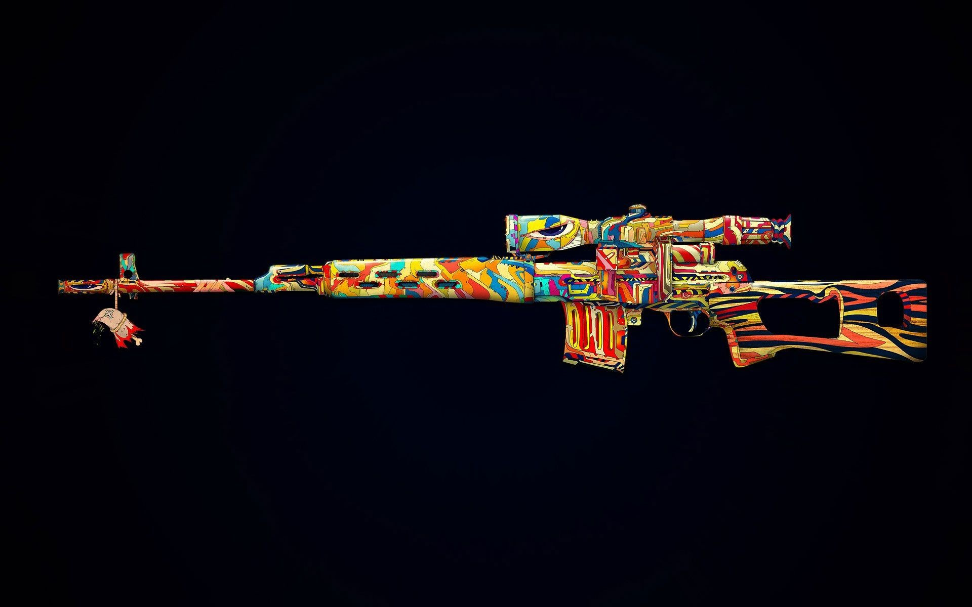 Res: 1920x1200, Coloured Machine Gun | All Wallpapers