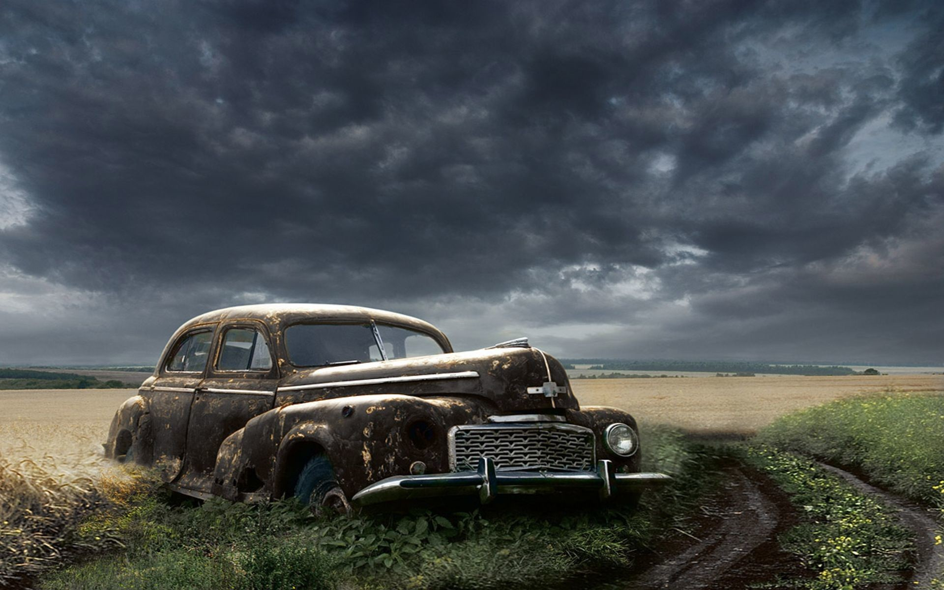 Res: 1920x1200, Old Car Wallpapers - HD Wallpapers Backgrounds of Your Choice