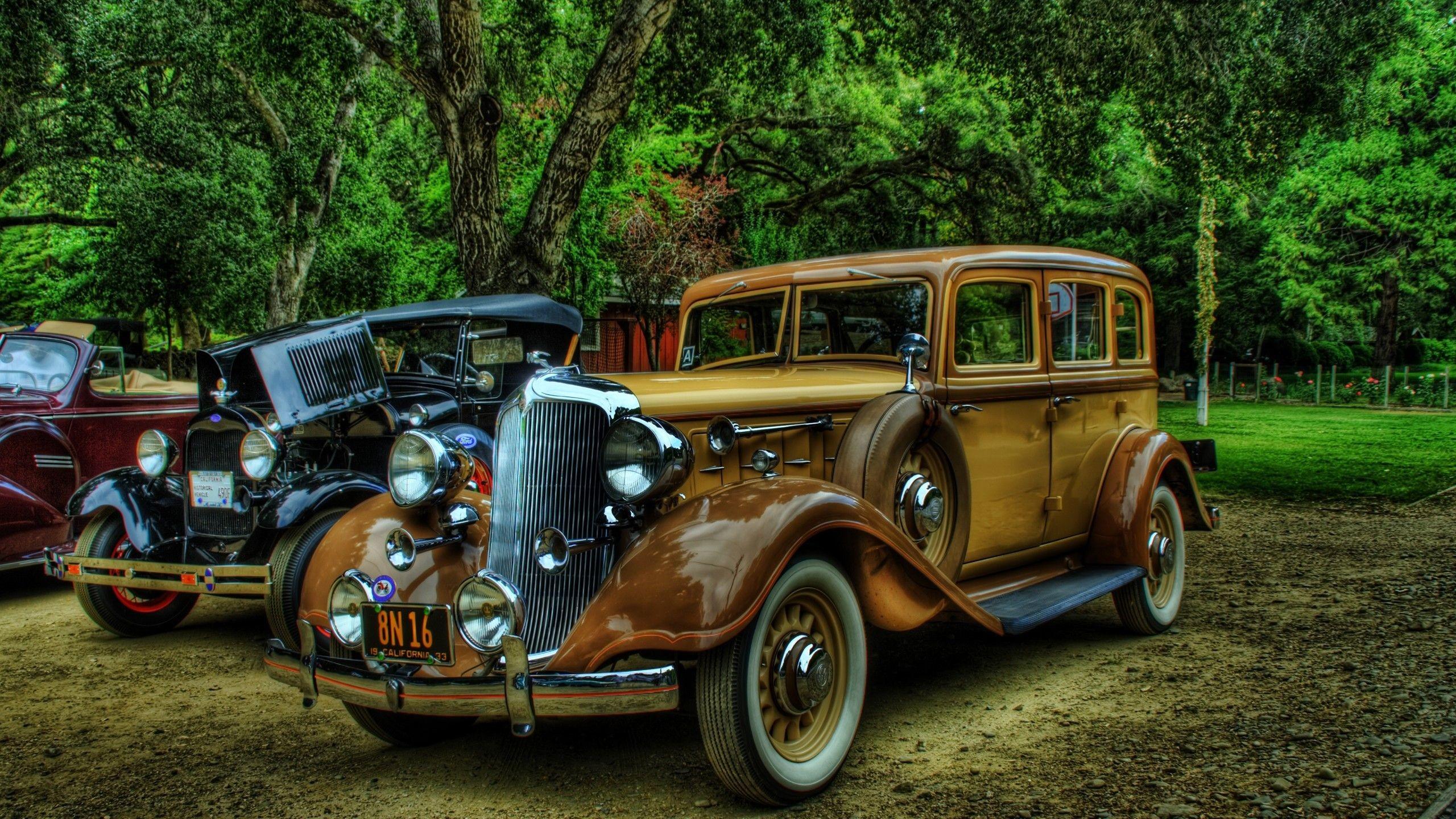 Res: 2560x1440, Vintage Car Wallpaper No Parking Pinterest Cars Vintage and