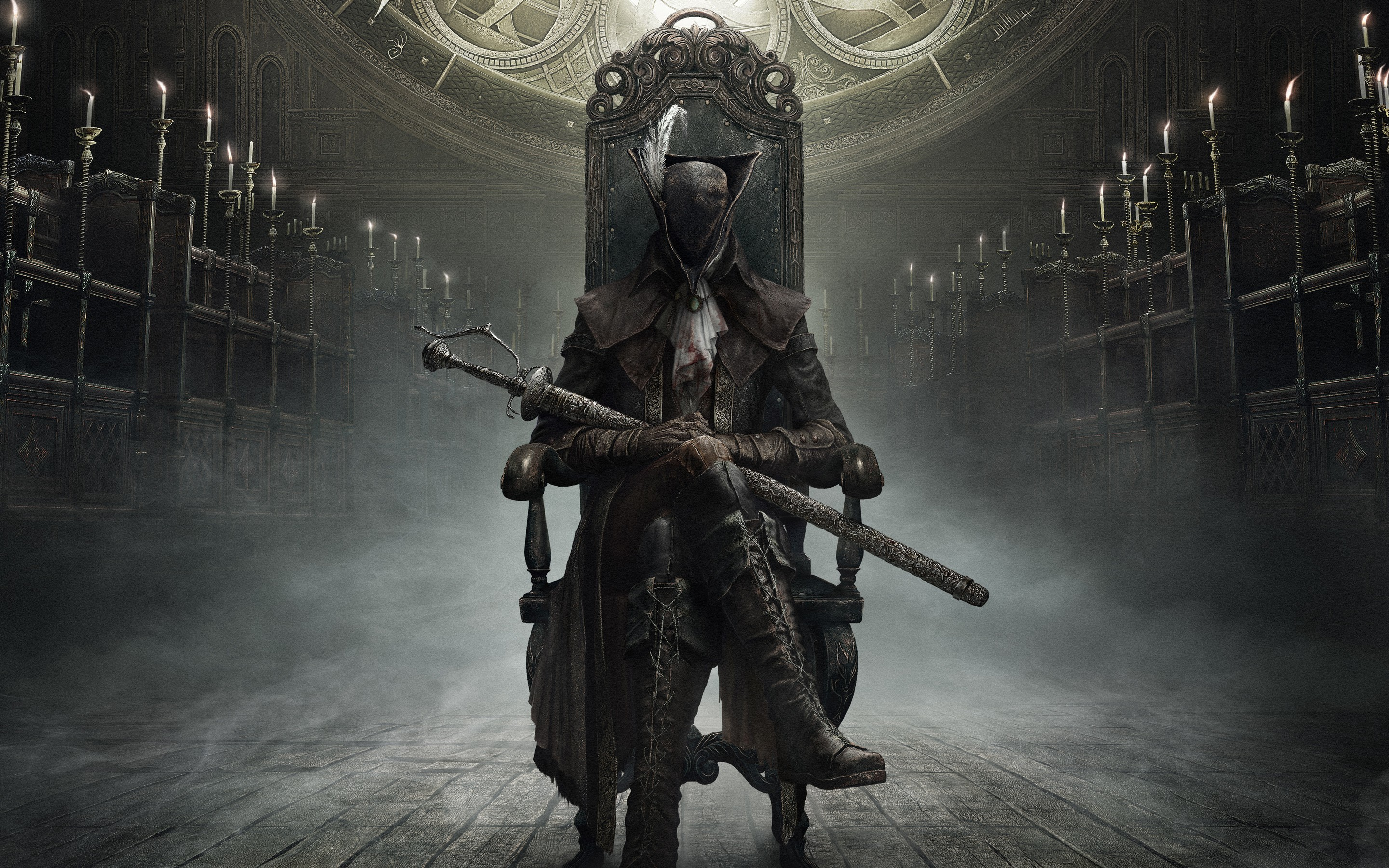 Res: 2880x1800, Bloodborne The Old Hunters