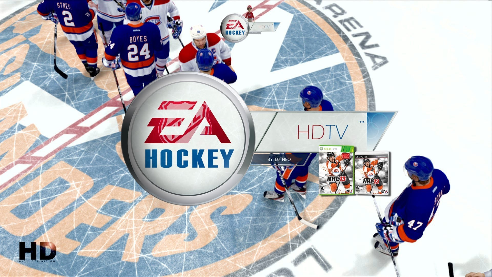 Res: 1920x1080, NHL 13 2013/14 Playoffs broadcast: Montreal Canadiens v.s. New York  Islanders (1080p) - YouTube